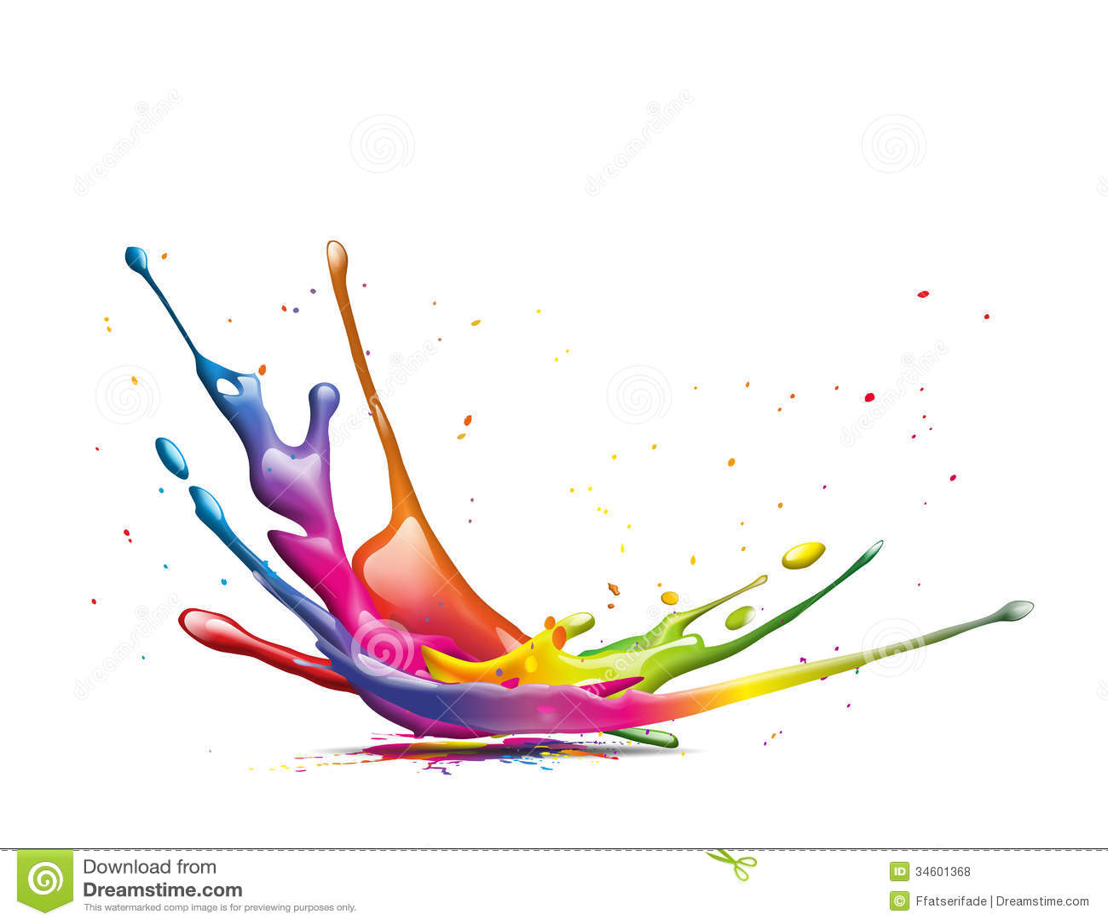 splash stock illustration illustration of painter fall