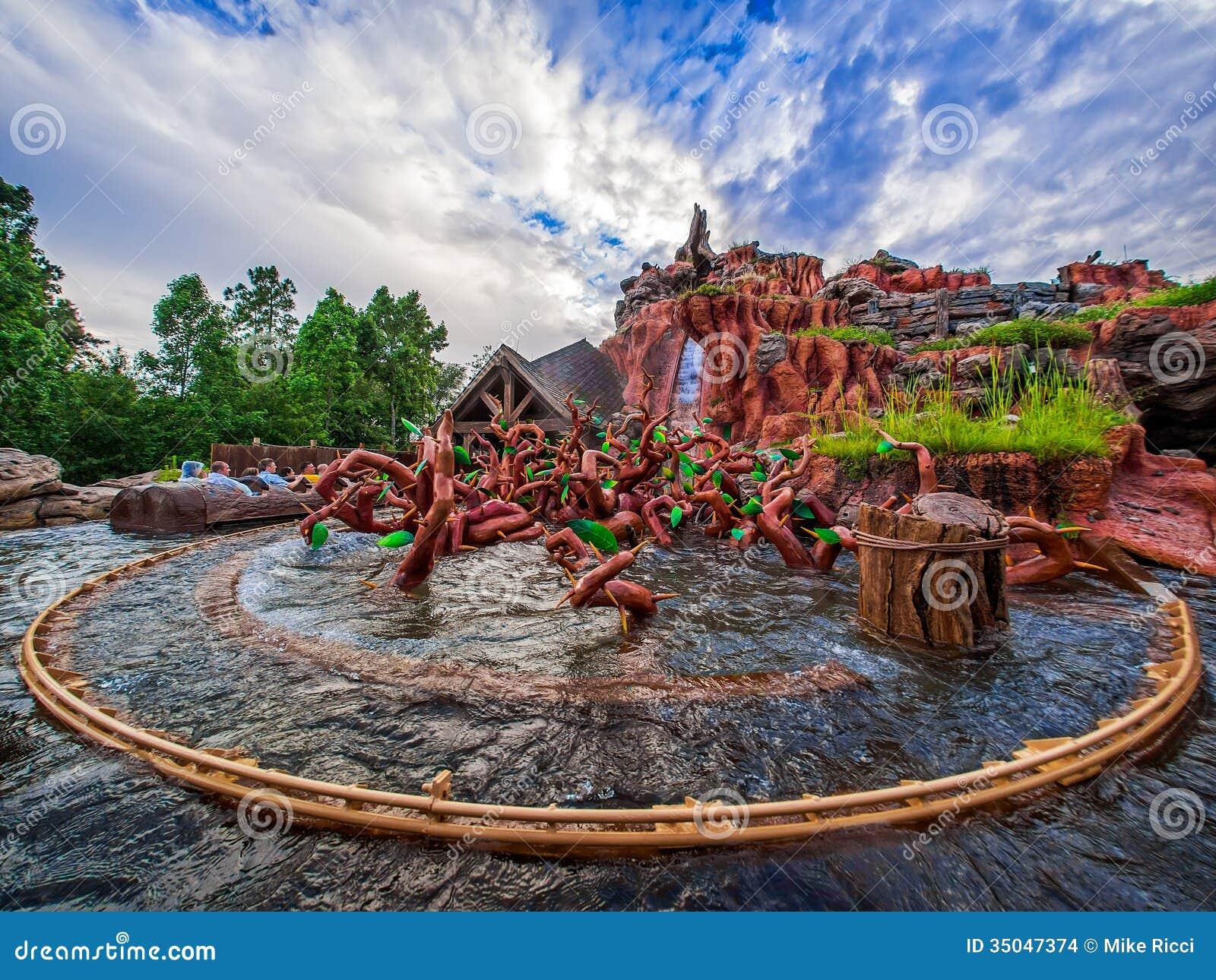 splash mountian editorial stock image  image of fantasyland