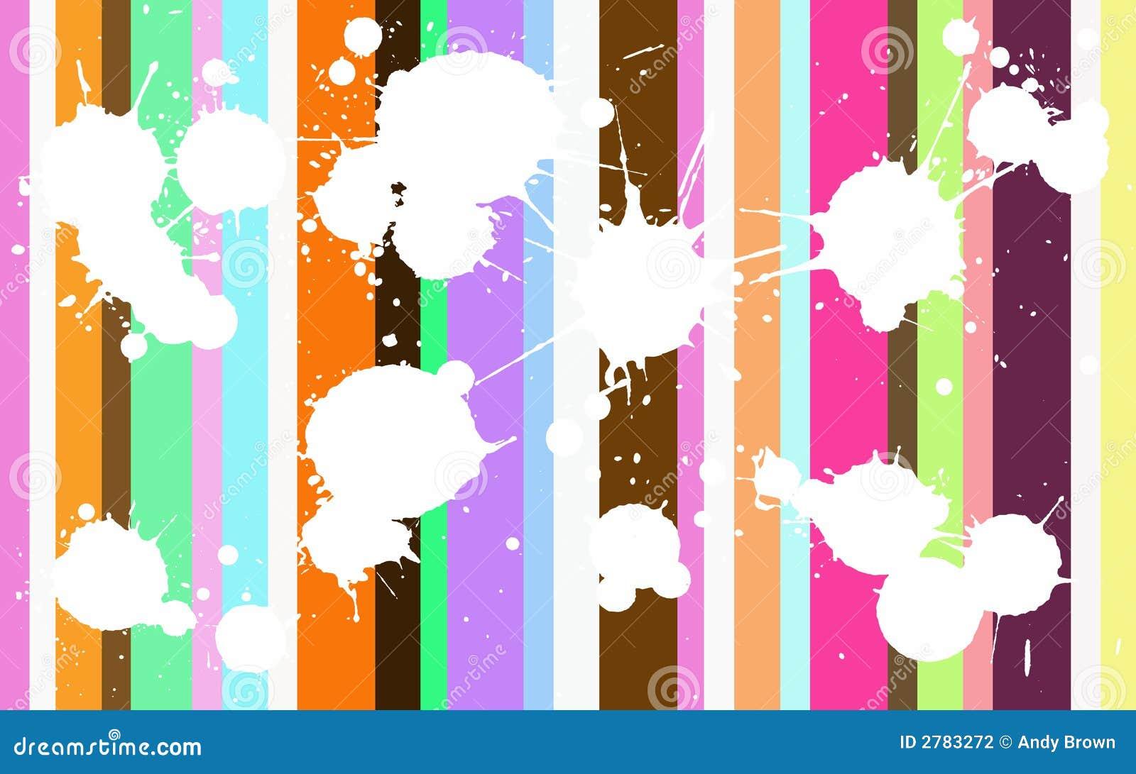 Splats coloré génial