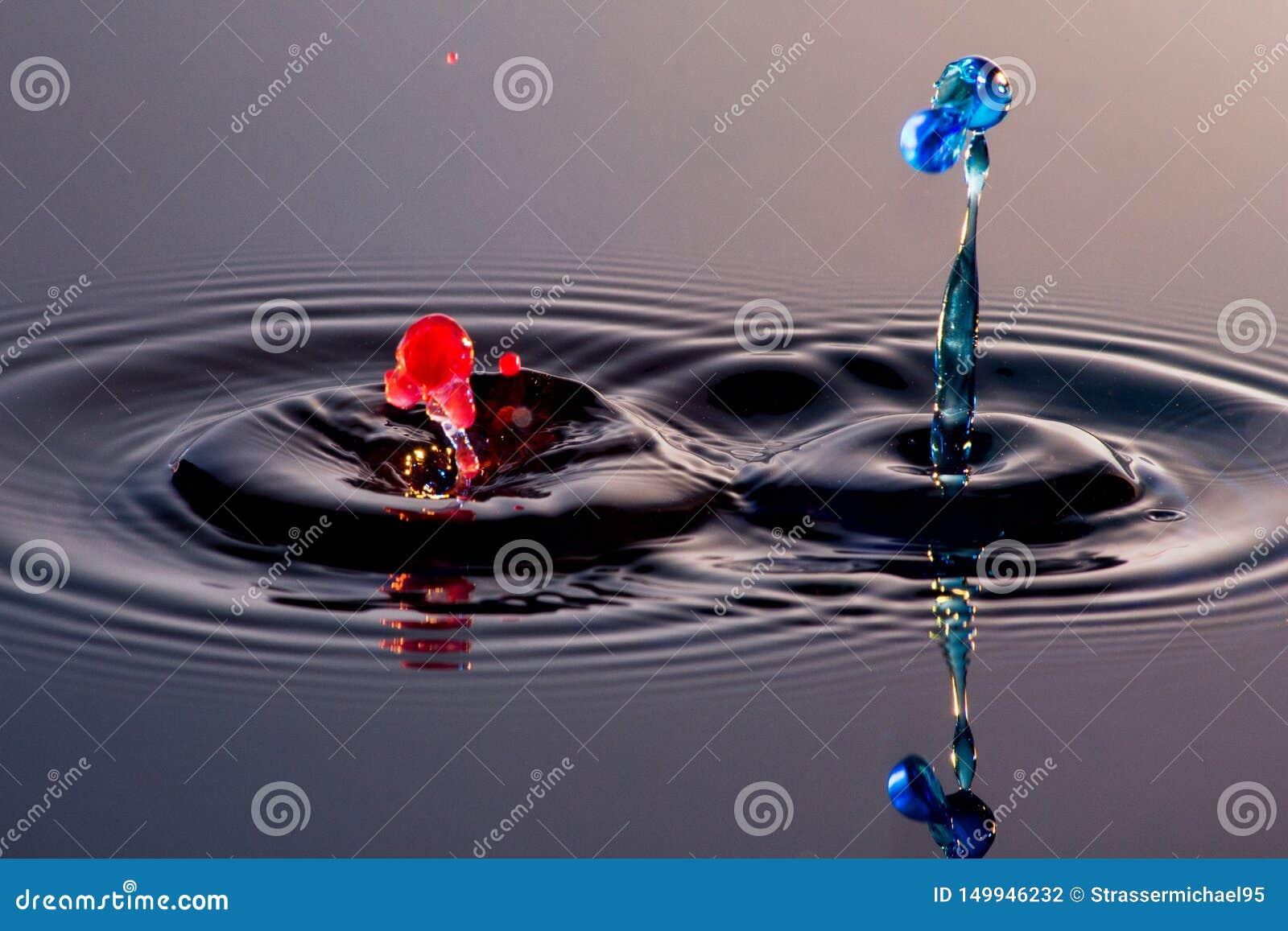 Splatter и выплеск 2 вод