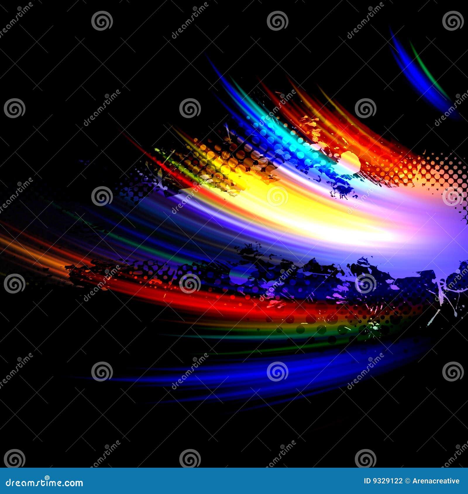 Splatter радуги плана