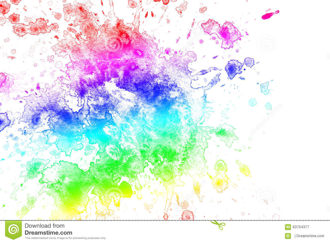 Rainbow Paint Splatter Background Pictures To Pin On