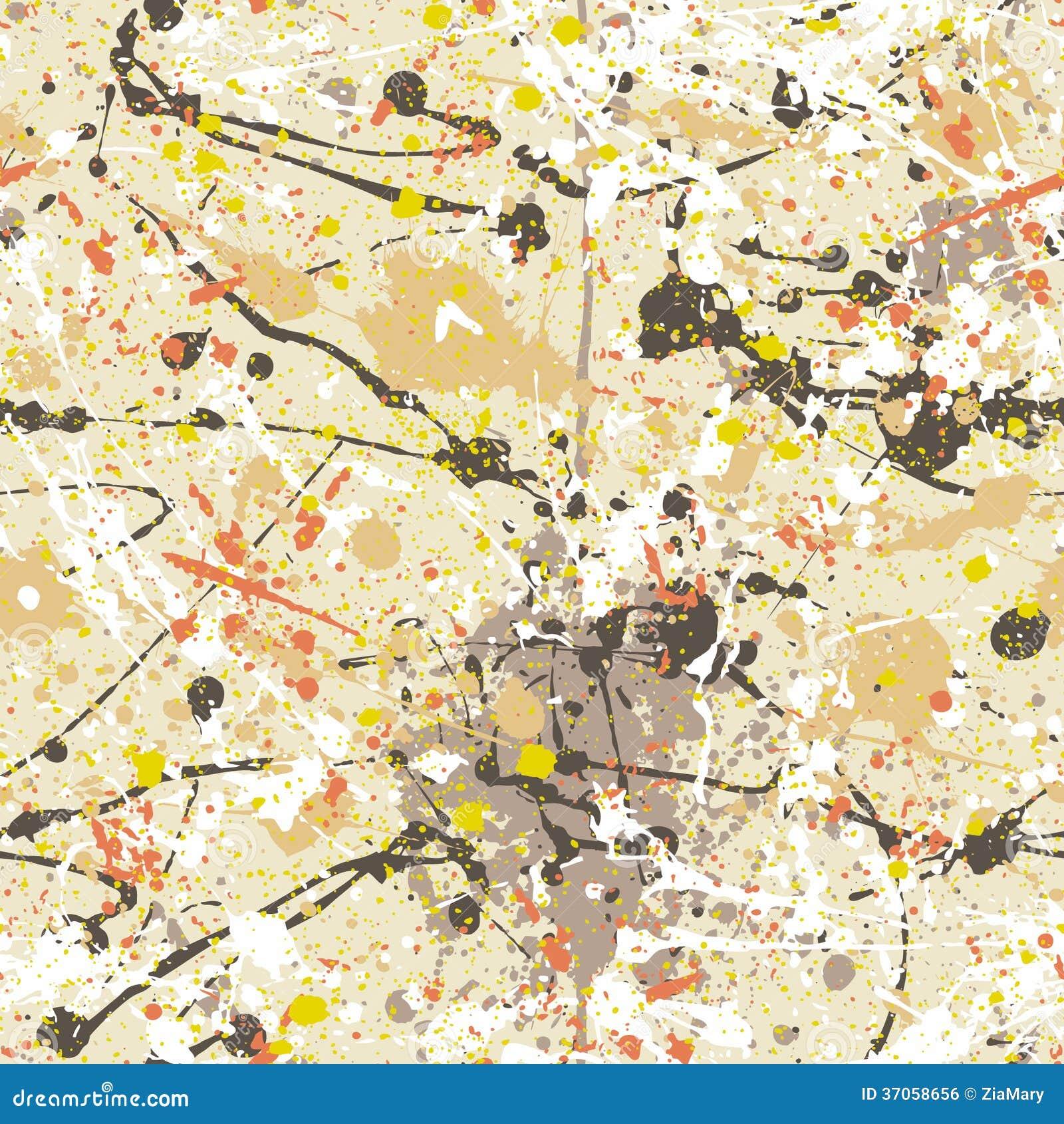 Splatter Paint Wallpaper Royalty Free Stock Image Image