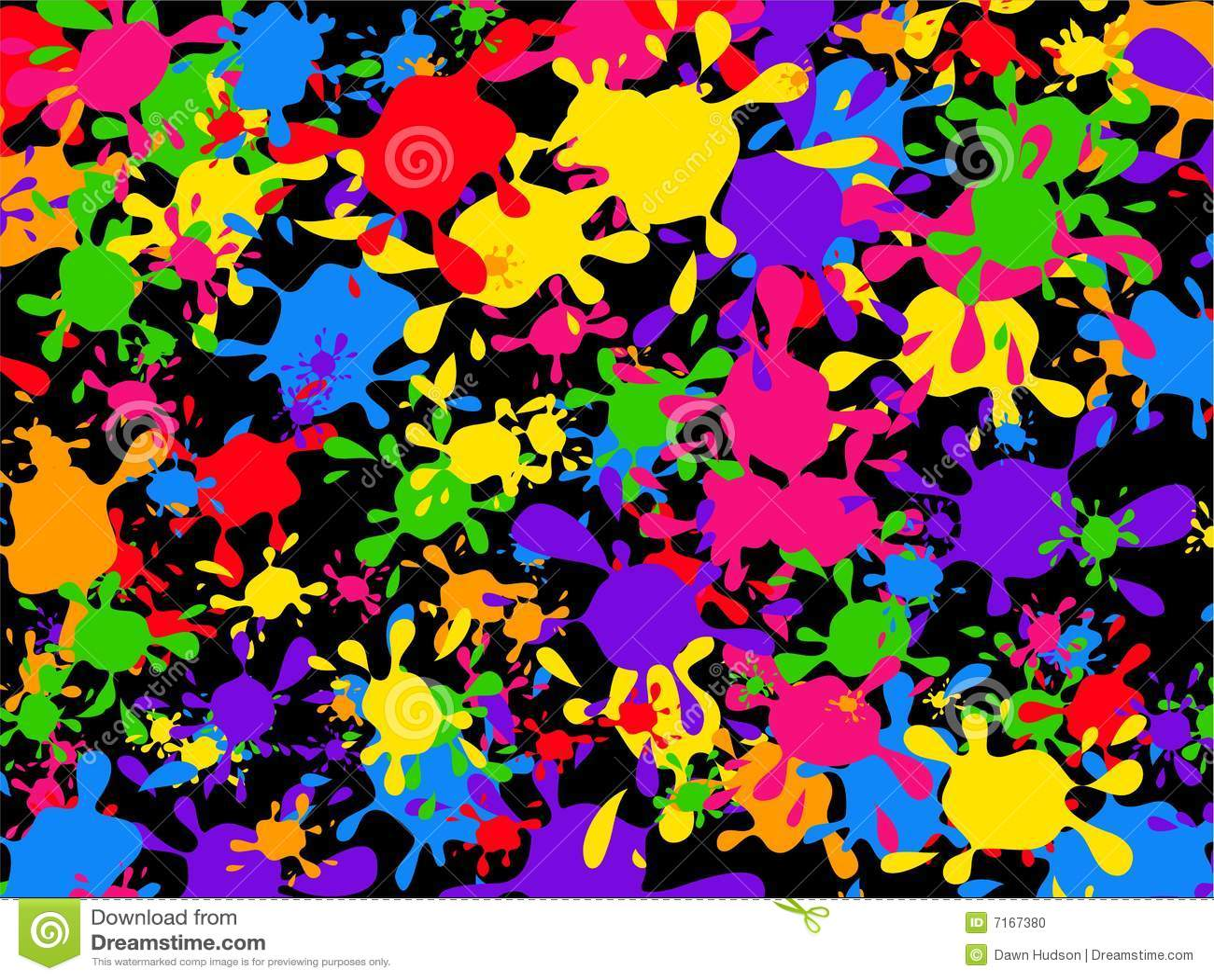splatter paint wallpaper royalty free stock image - image: 37058656