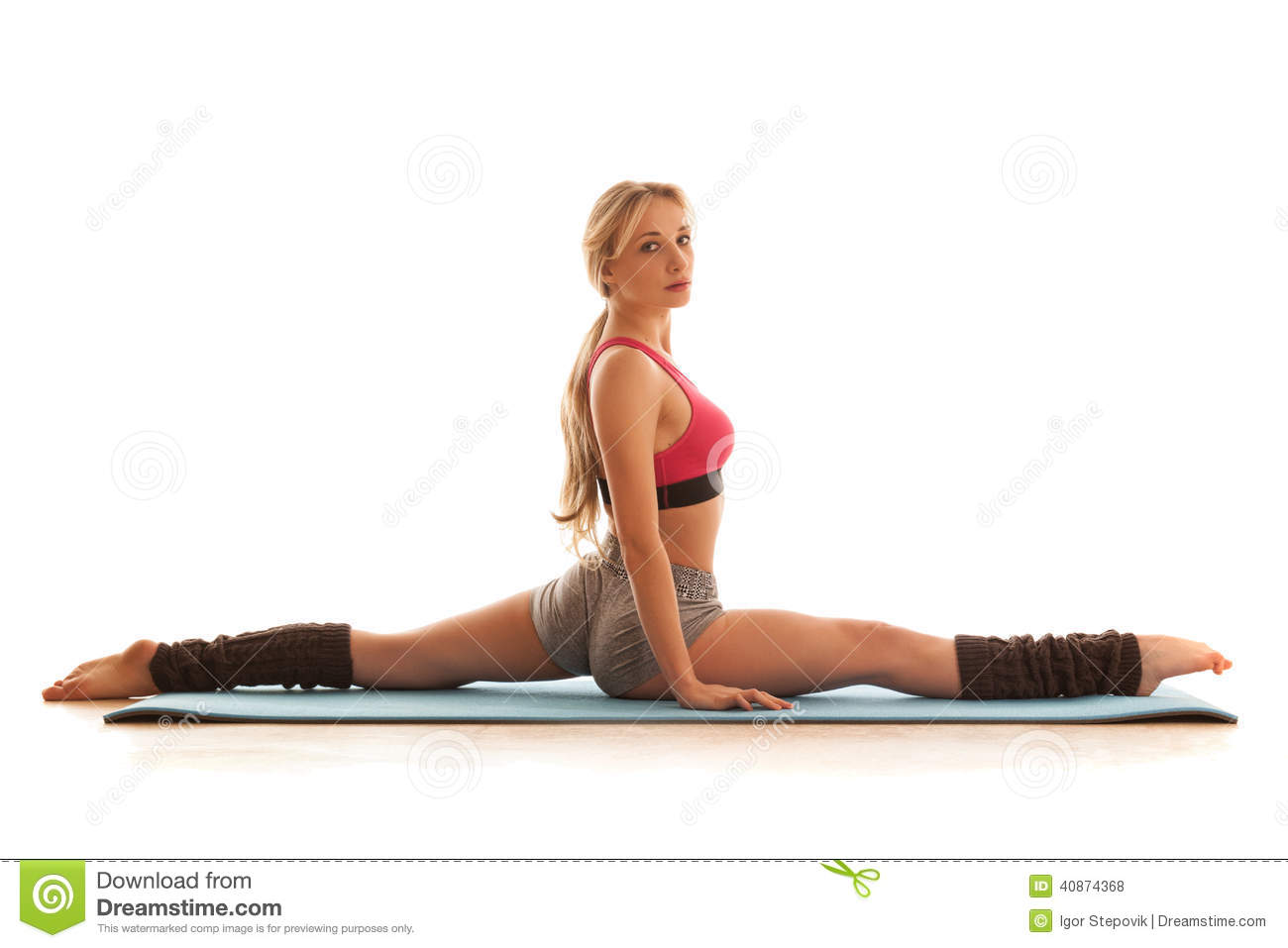 Sexy Naked Women Doing Splits Images 85