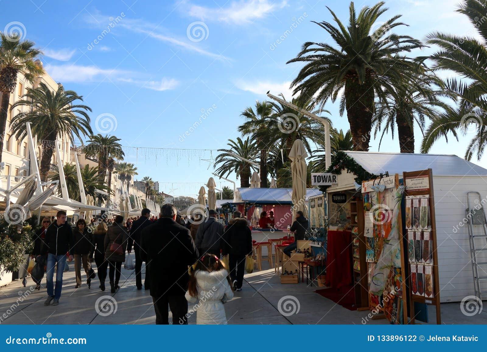 Cantonul Split-Dalmația