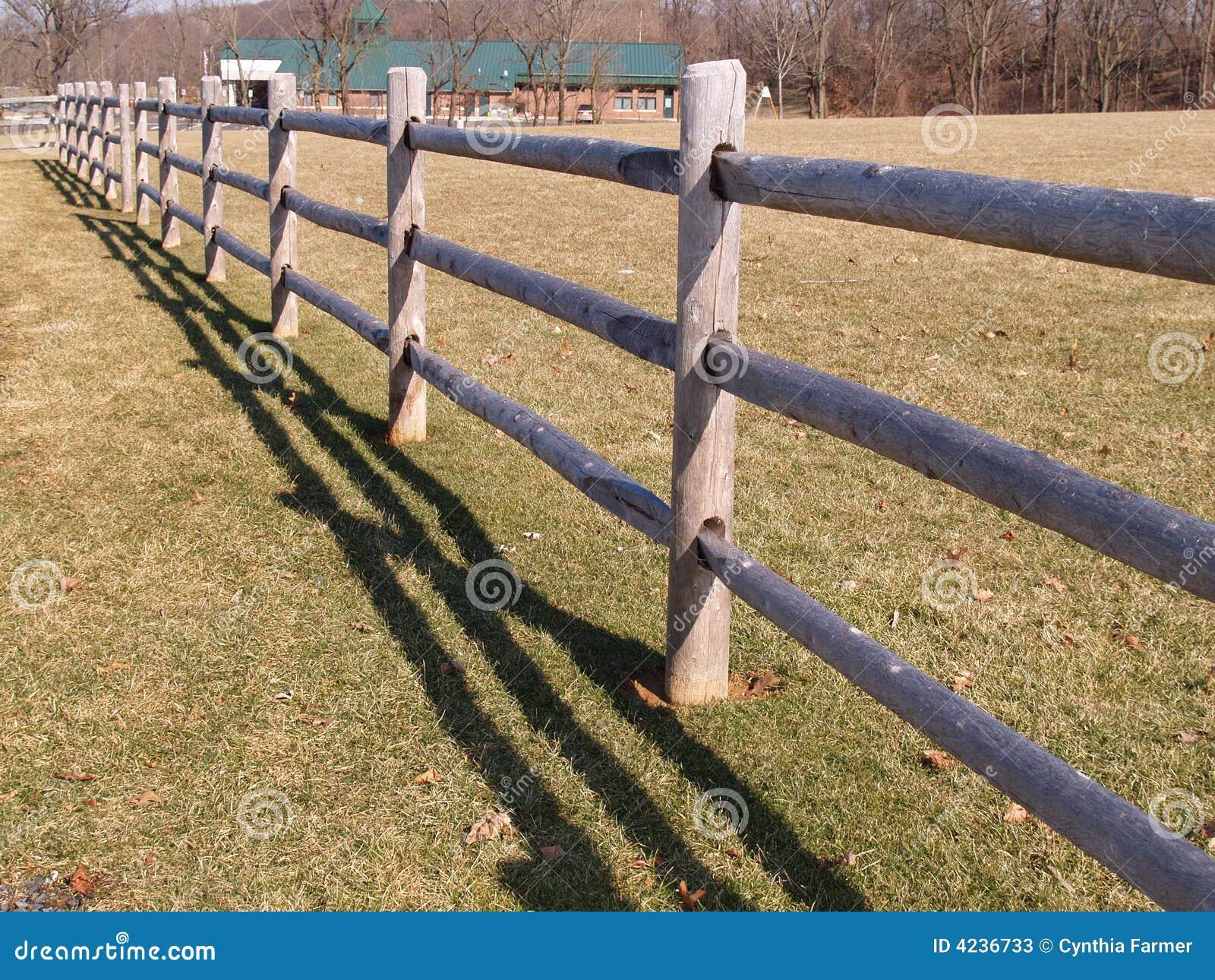 Split rail wood fence stock photos image 4236733 fence field rail split wood baanklon Gallery