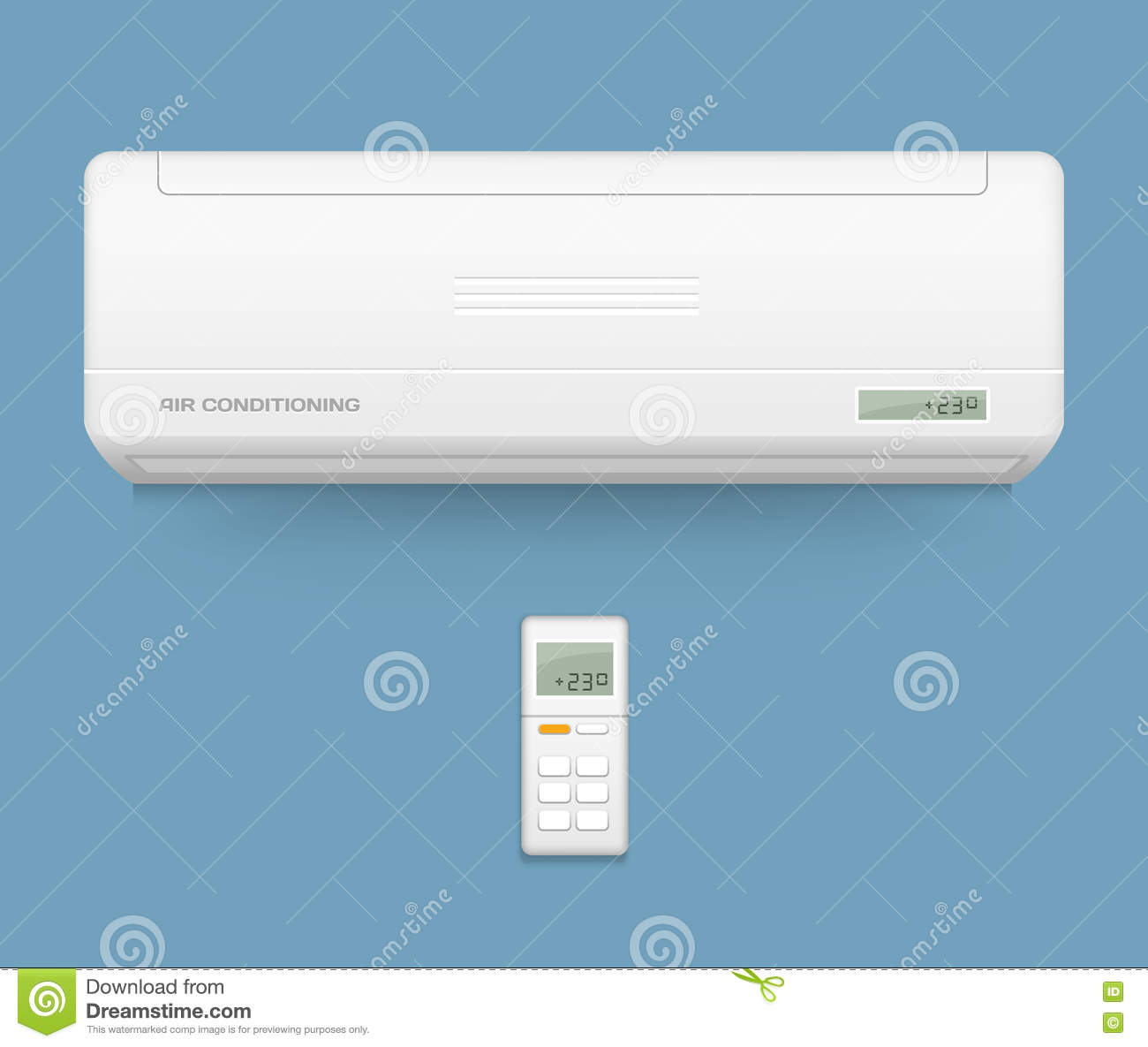 Split System Air Conditioner Cool And Cold Climate