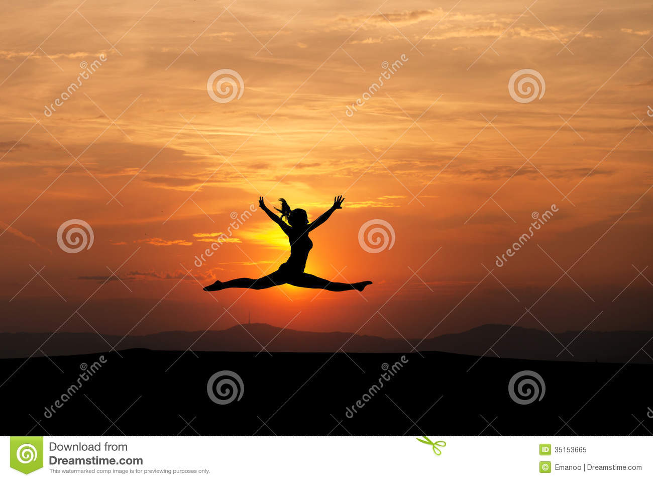 Displaying 20> Images For - Gymnastics Clipart Silhouette Split...