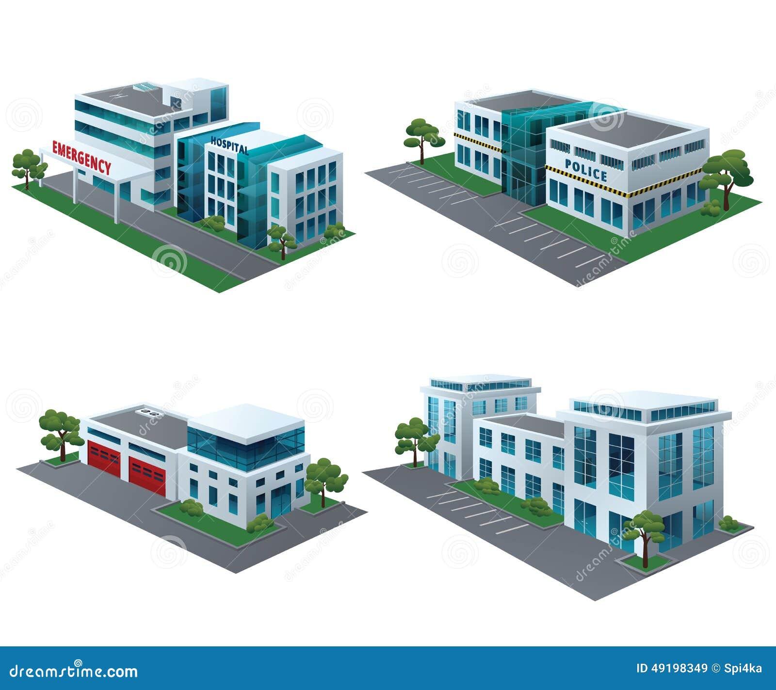 Społeczność budynki