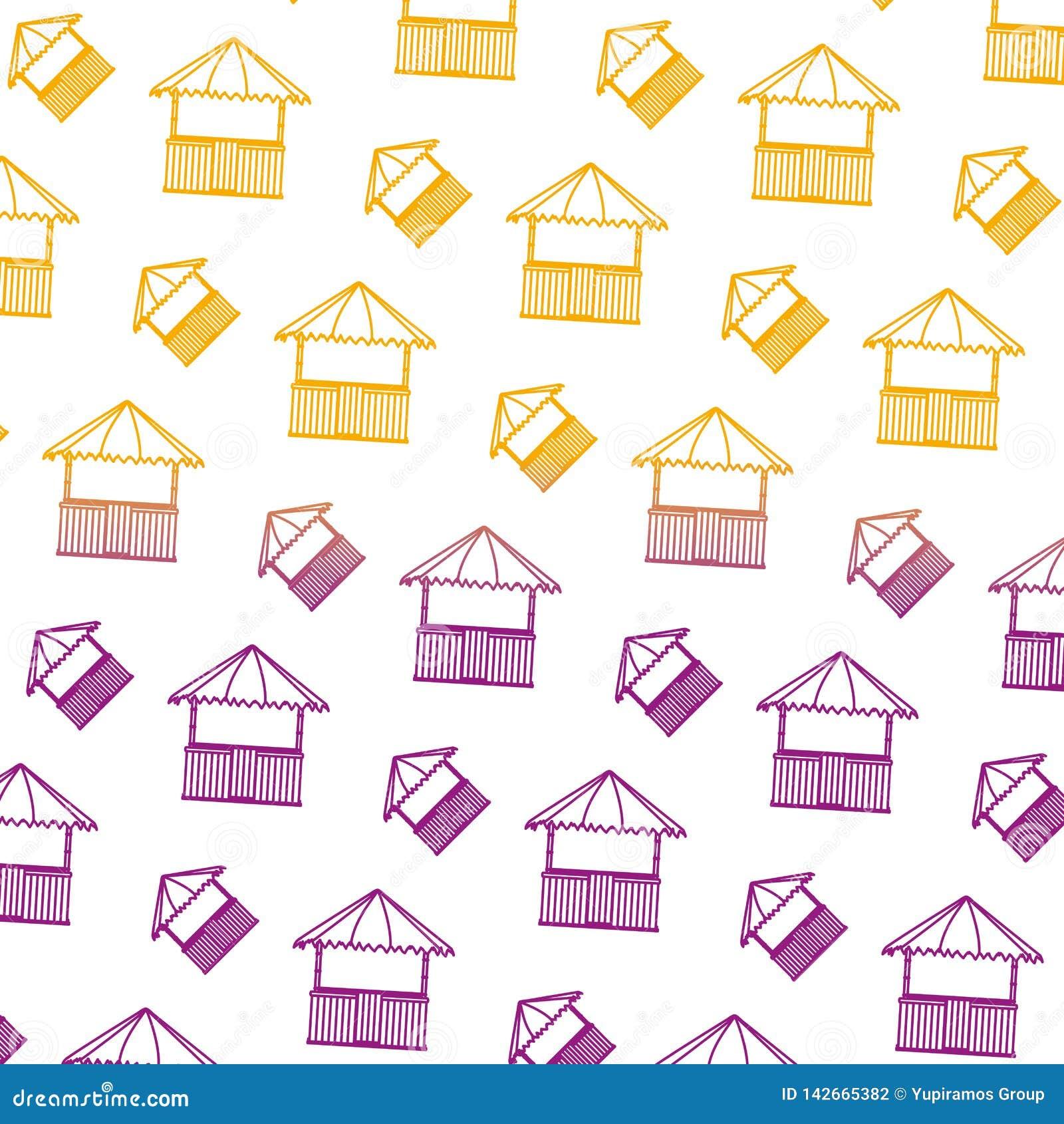 Spodlony kreskowy słomiany budy natury architektury tło