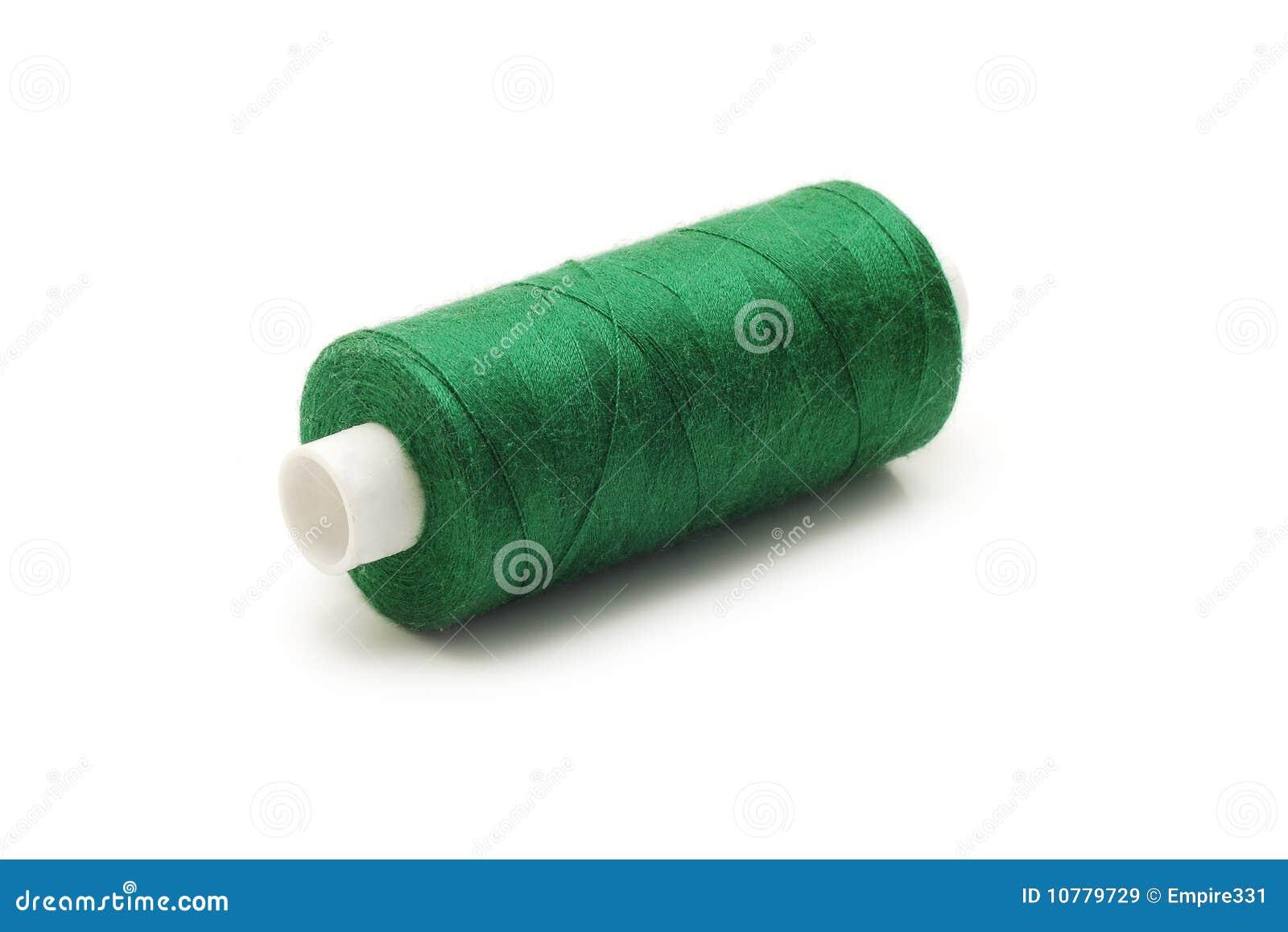 Spoel met groen koord