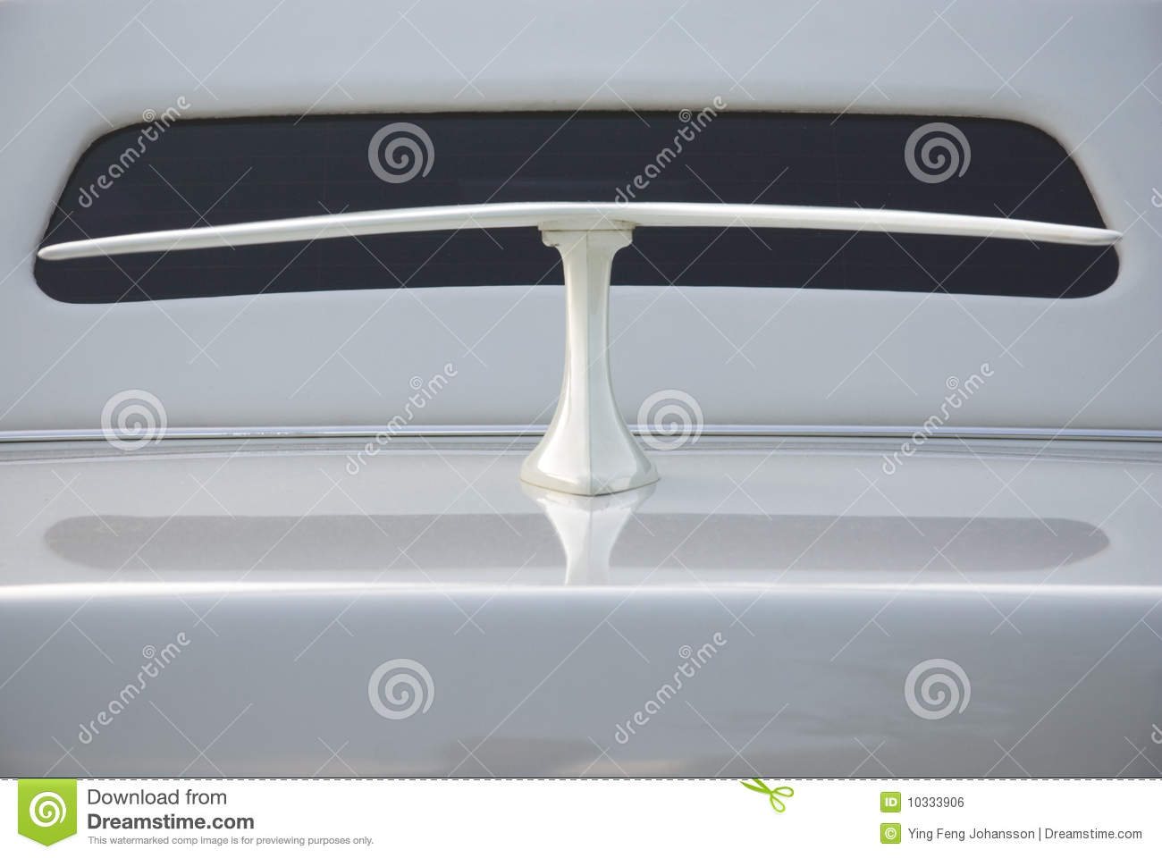 close up of car spoiler on speedway at stadium stock photography 54629390. Black Bedroom Furniture Sets. Home Design Ideas