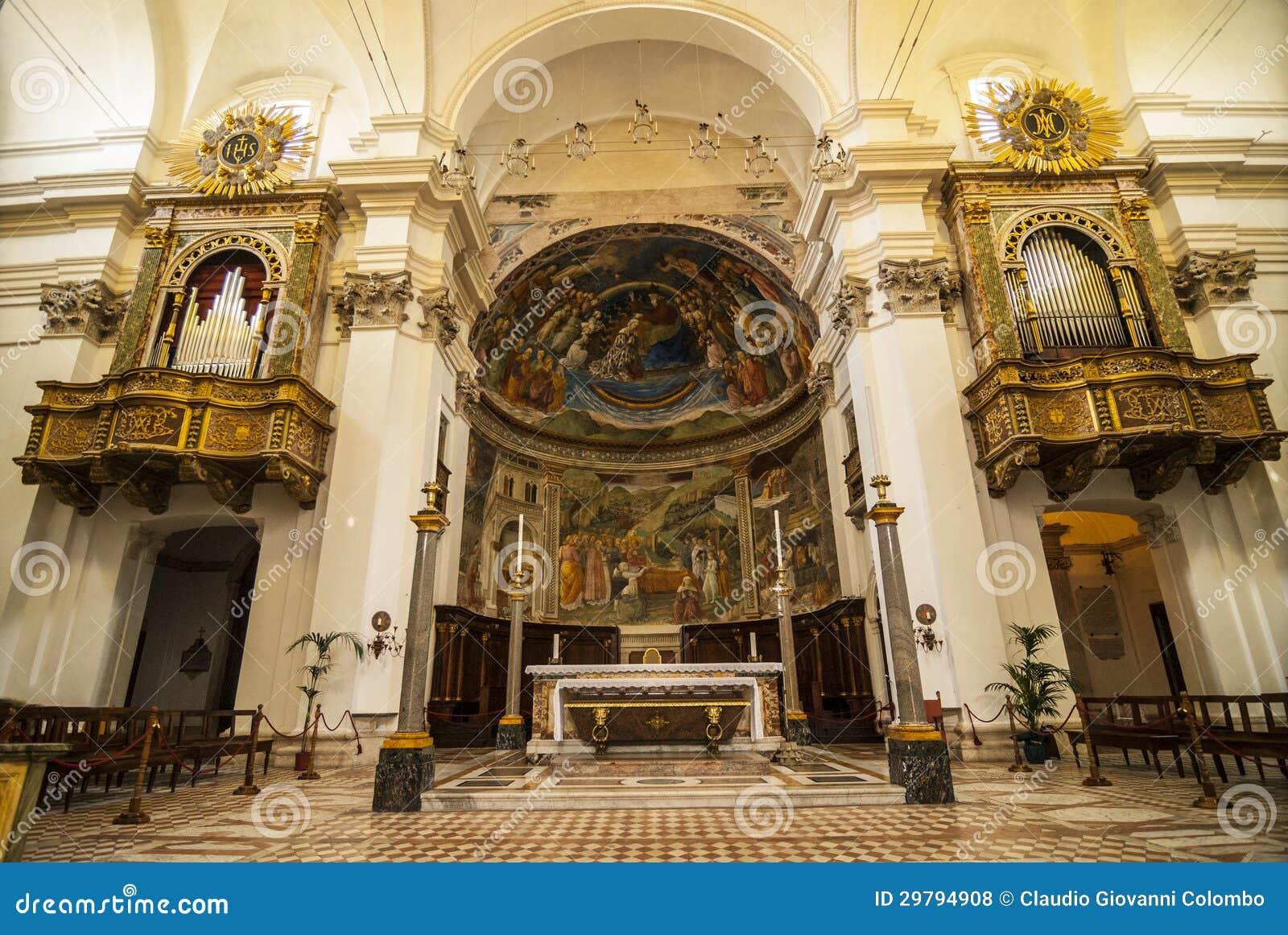 Spoleto interior da catedral fotos de stock royalty free - Interior design perugia ...