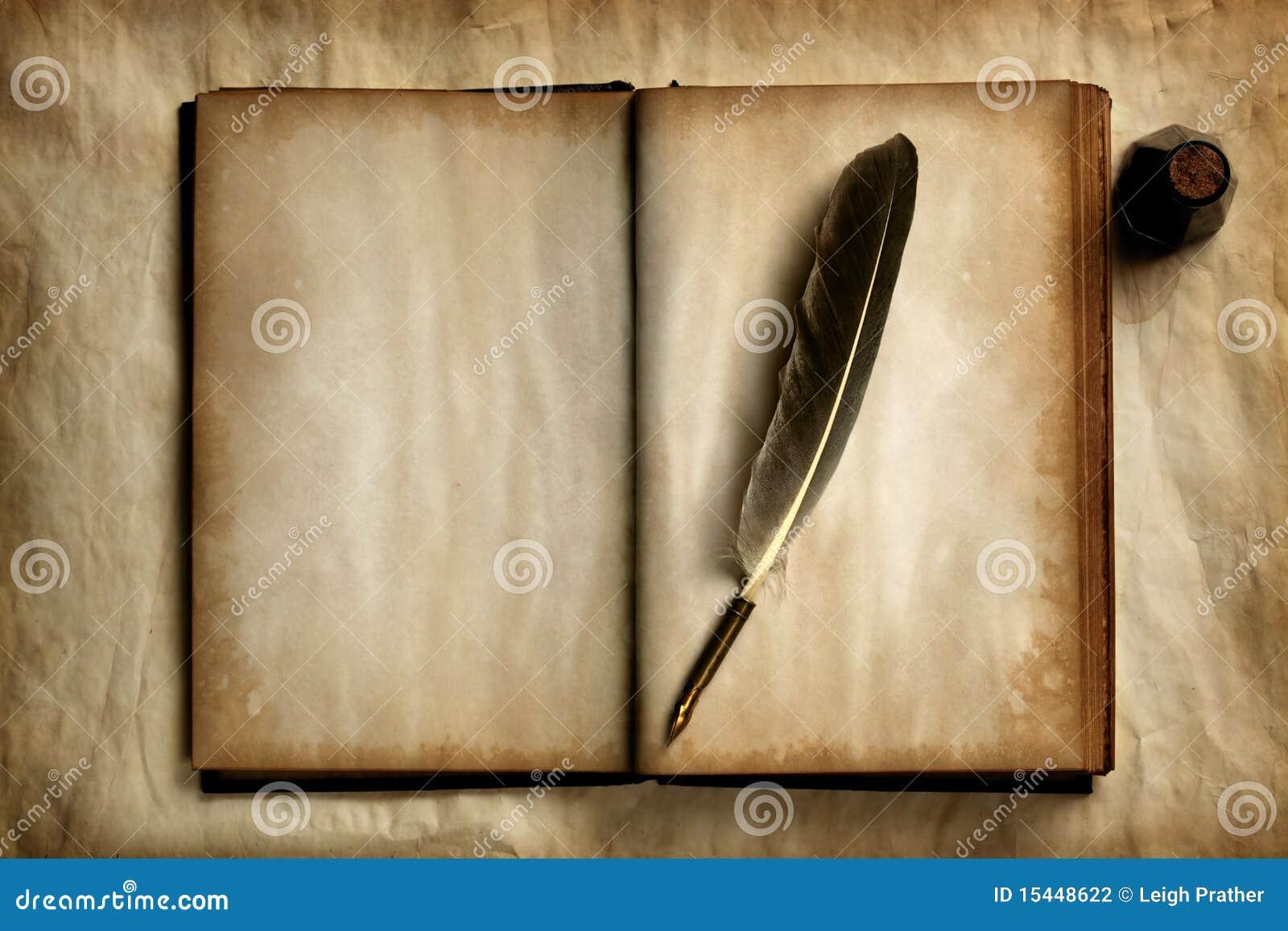 Spoletta sul vecchio libro