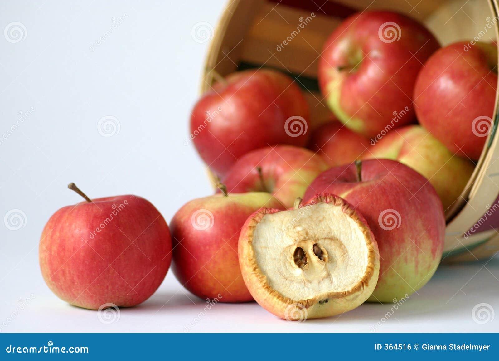 Spolierar dålig grupp en för äpplet