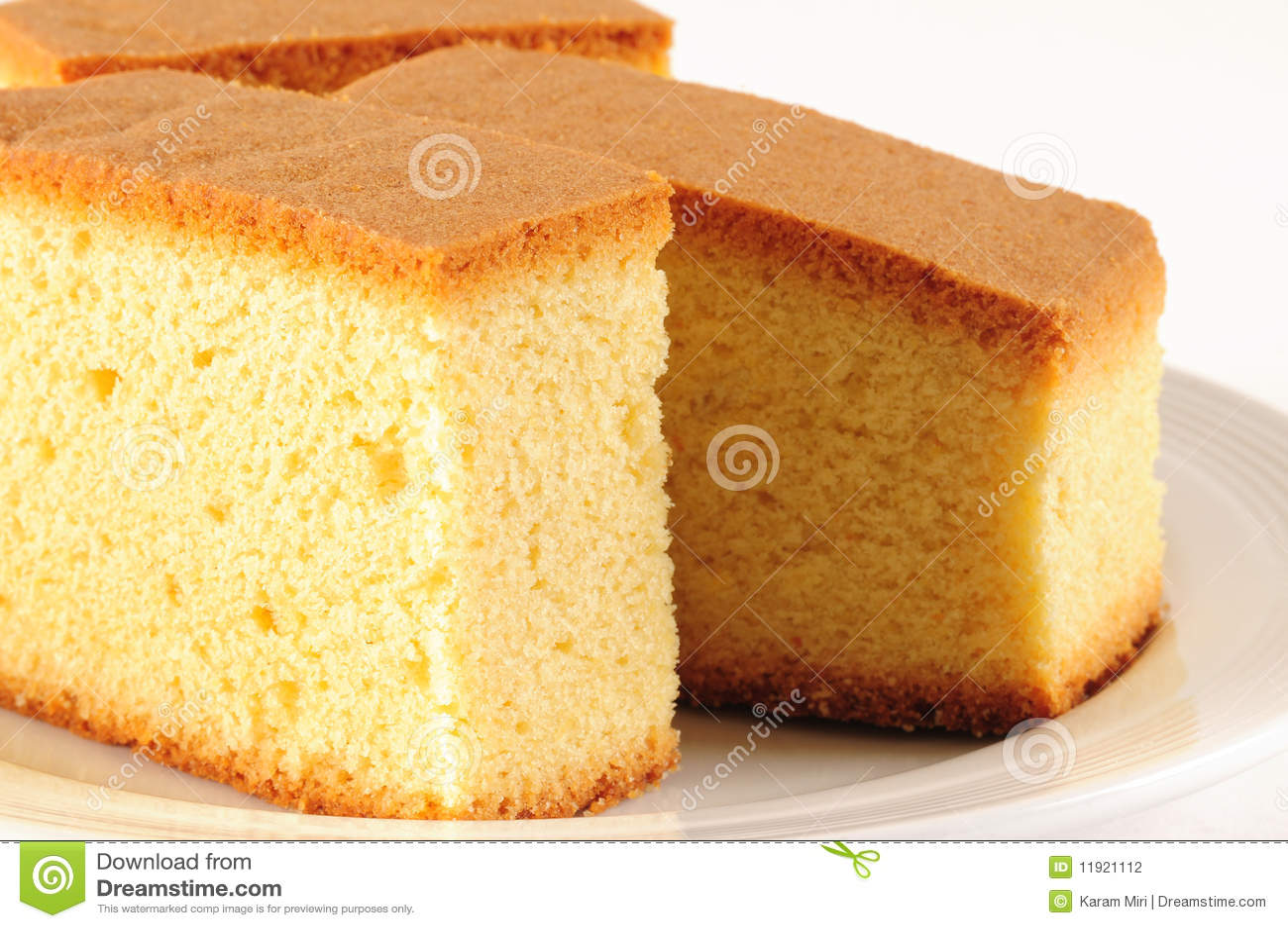 Sponge cake stock photo. Image of sweet, stack, texture ...