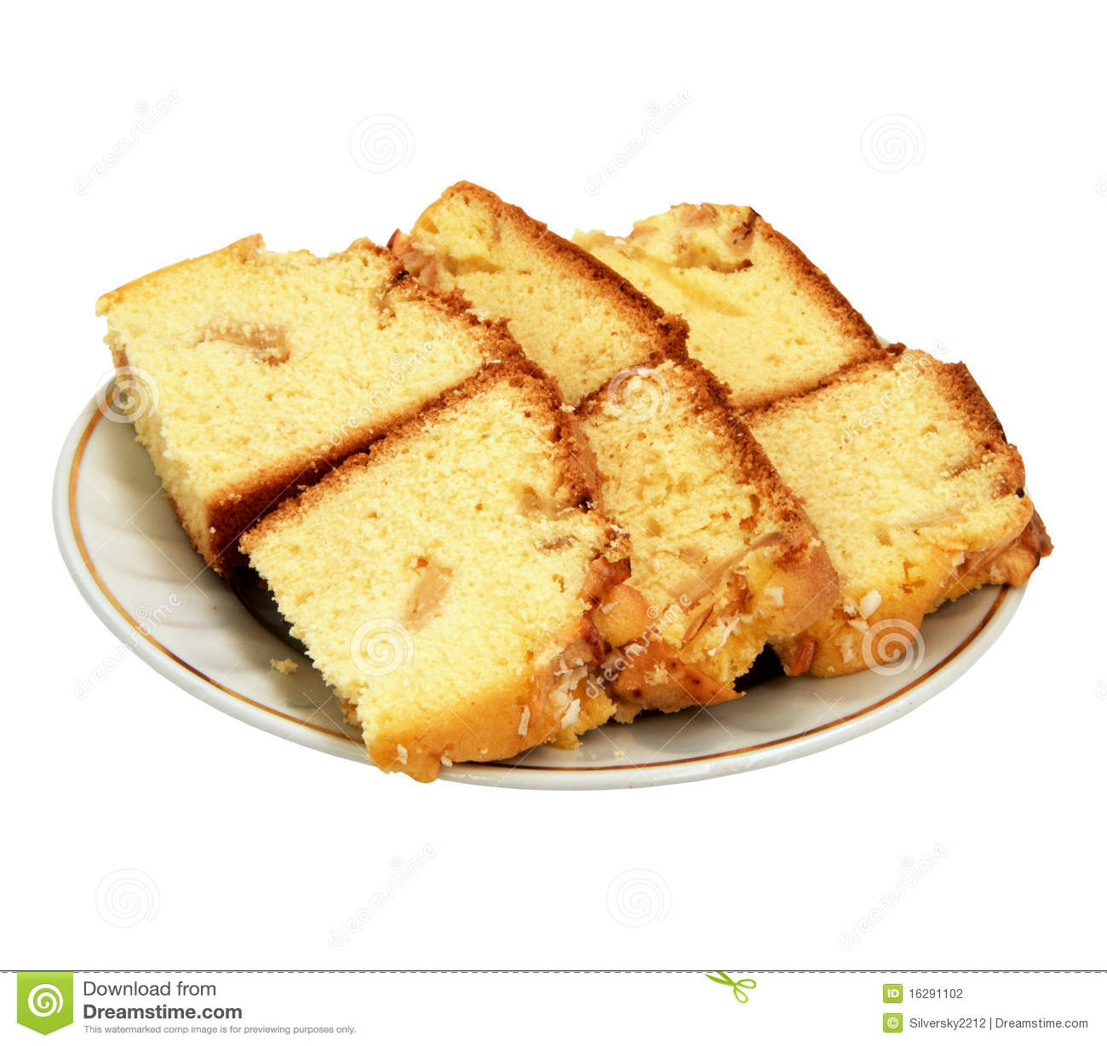 Apple Charlotte Sponge Cake