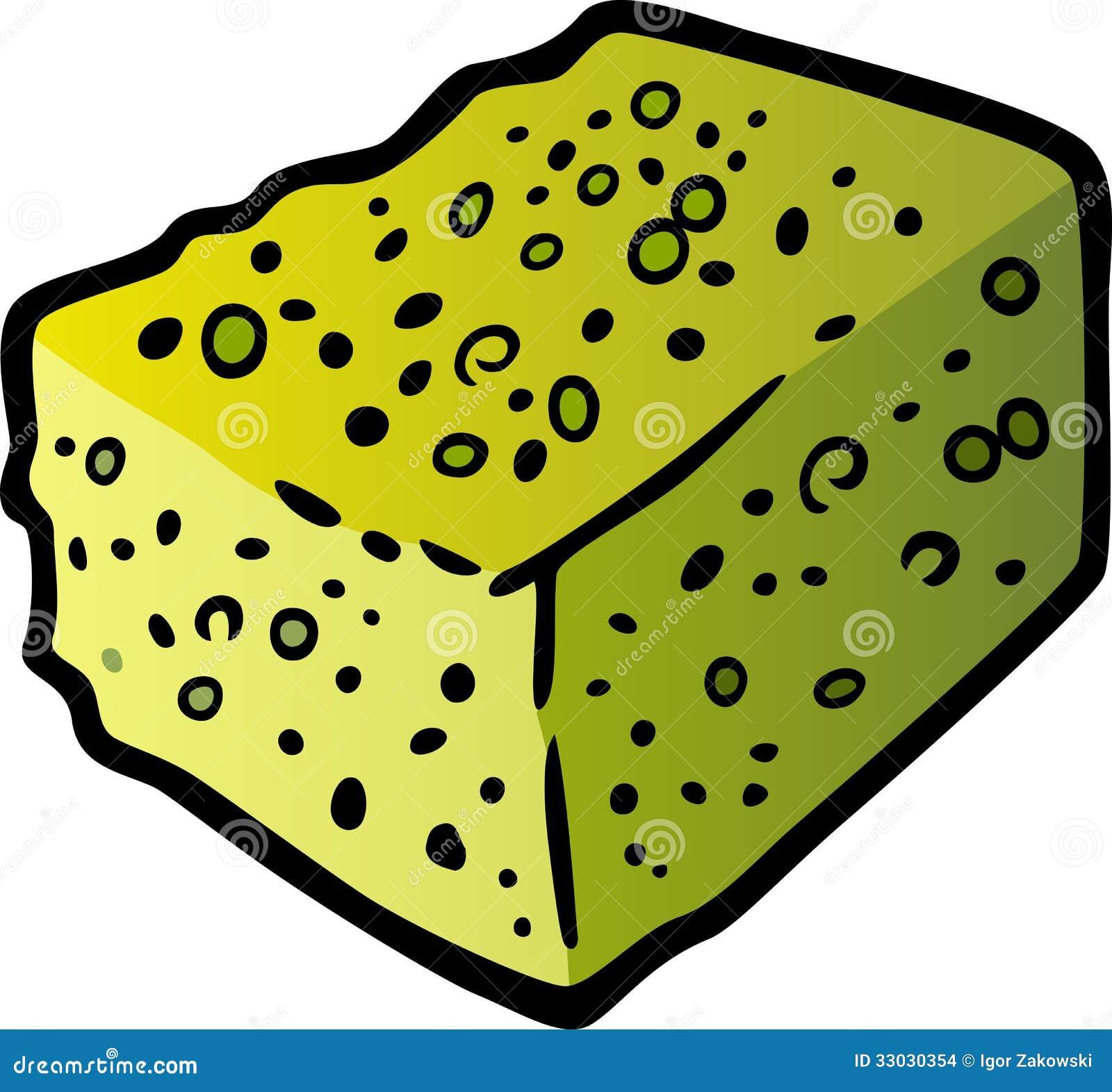 Sponge Clip Art Cartoon Illustration Stock Images - Image: 33030354