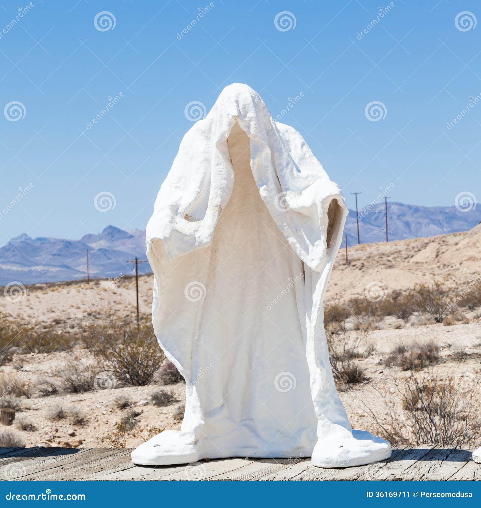 Spook in de woestijn
