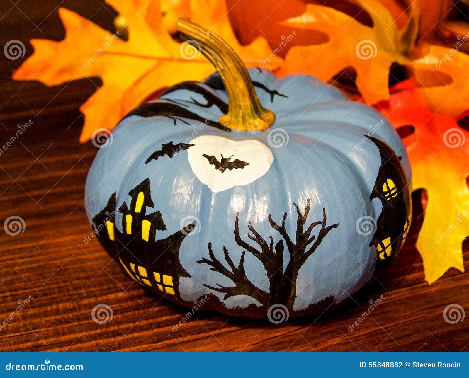 Halloween Painted Pumpkins Part - 41: Dreamstime.com