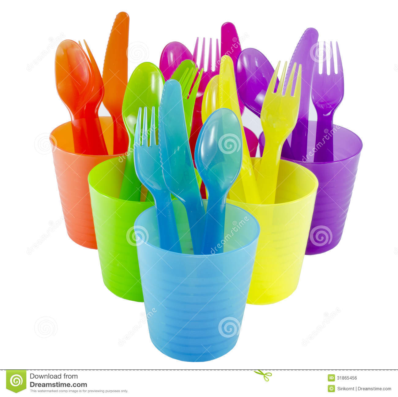Spoon Fork Cup And Bowl Plastic Ware With White Isolate  : spoon fork cup bowl plastic ware white isolate backgrou 31865456 from www.dreamstime.com size 1300 x 1298 jpeg 133kB