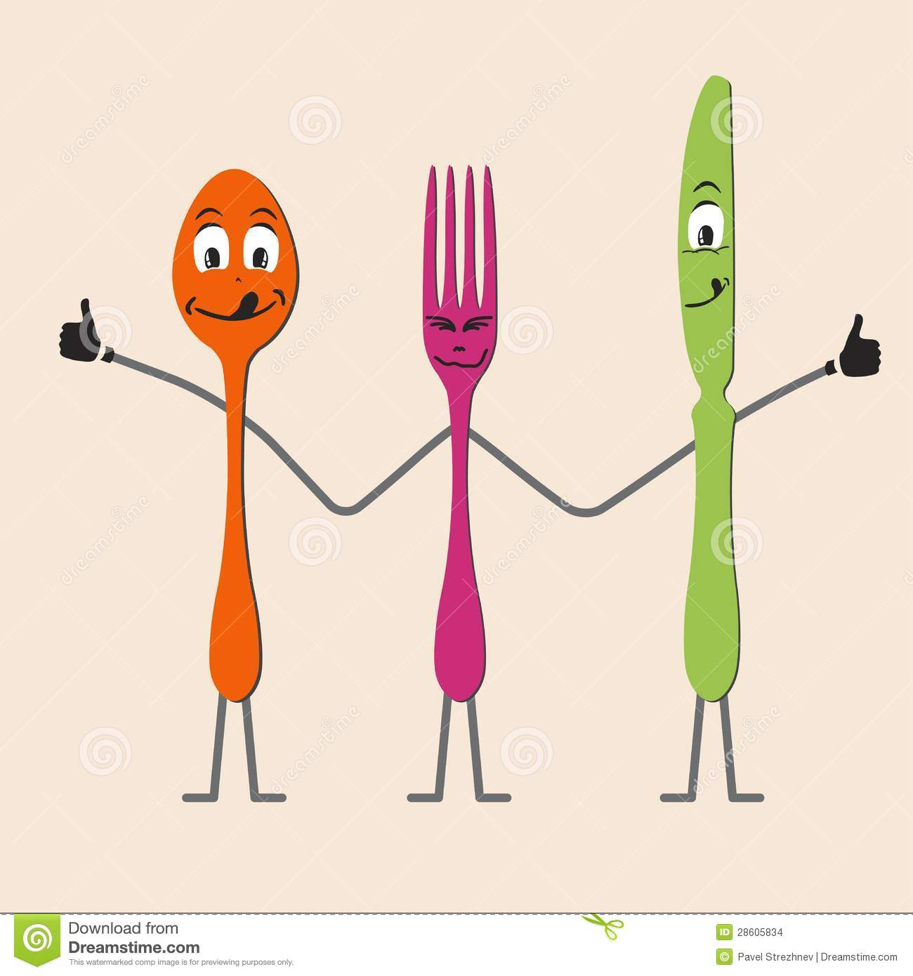 Spoon Knife And Fork C...