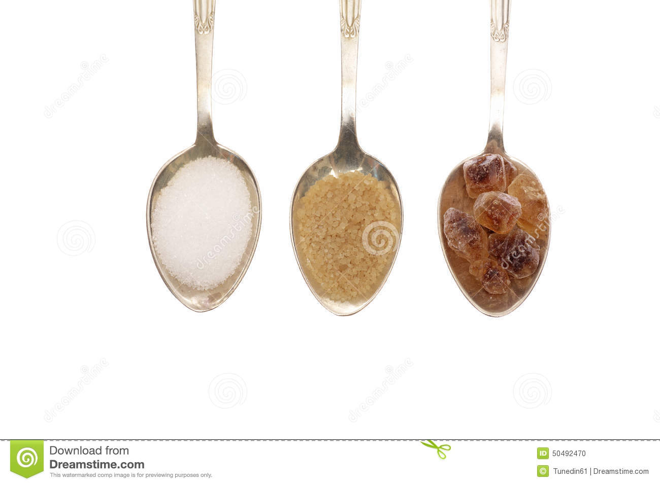 Spoons Filled With Dif...