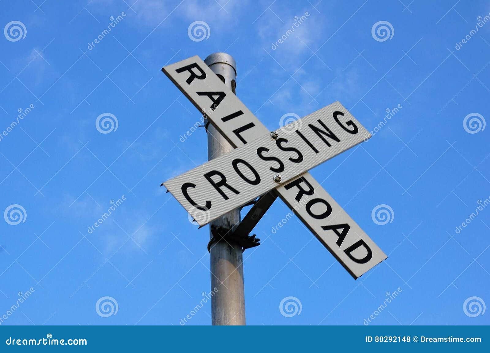 Spoorweg Kruising