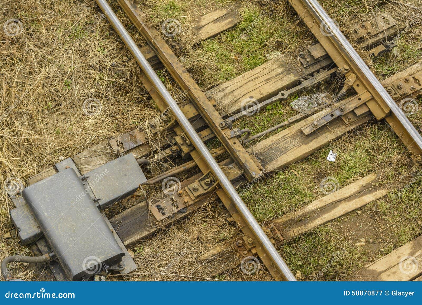 Spoorwegschakelaar