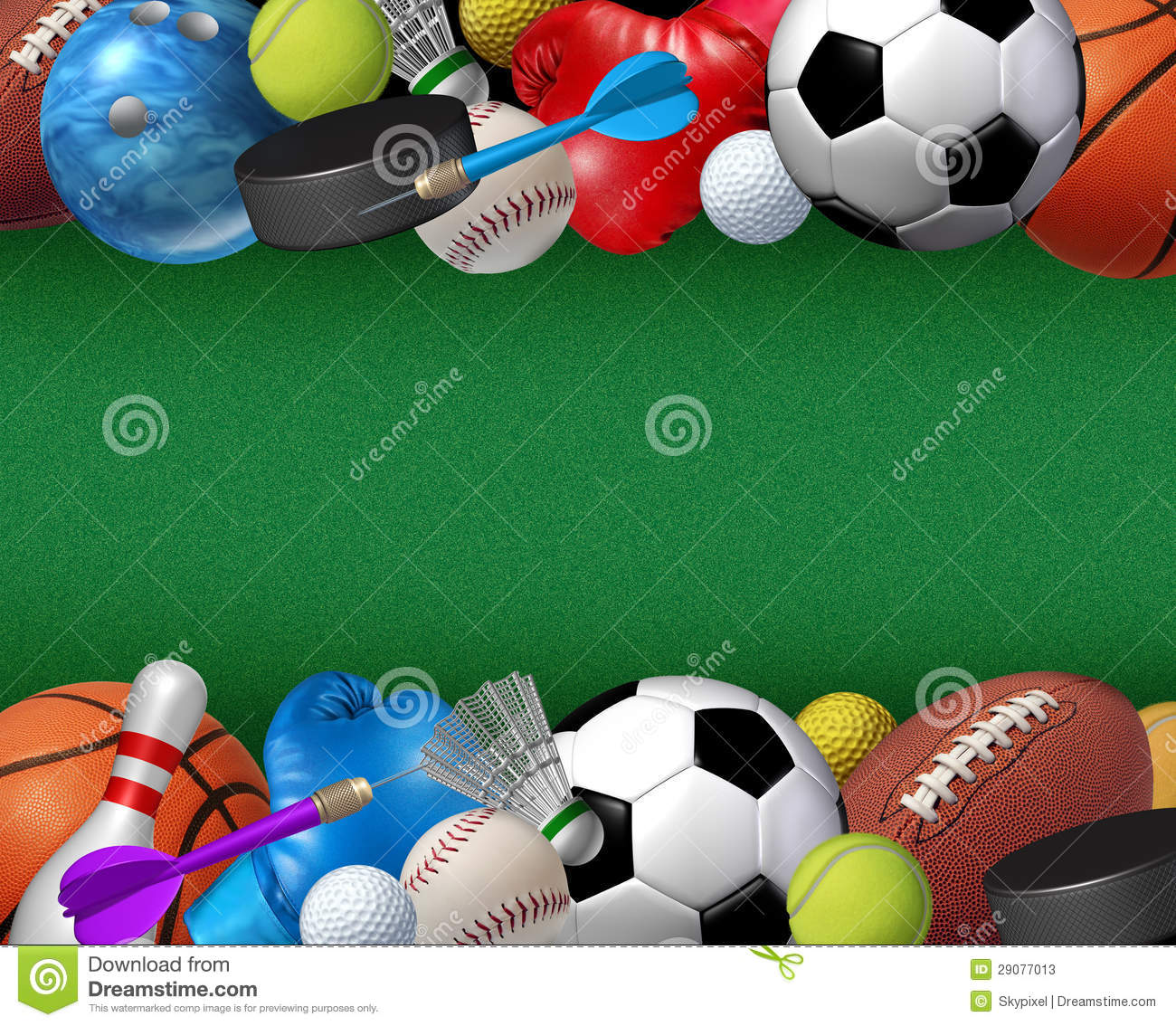 sport and activities border stock illustration illustration of rh dreamstime com Sports Balls Clip Art Sports Balls Clip Art