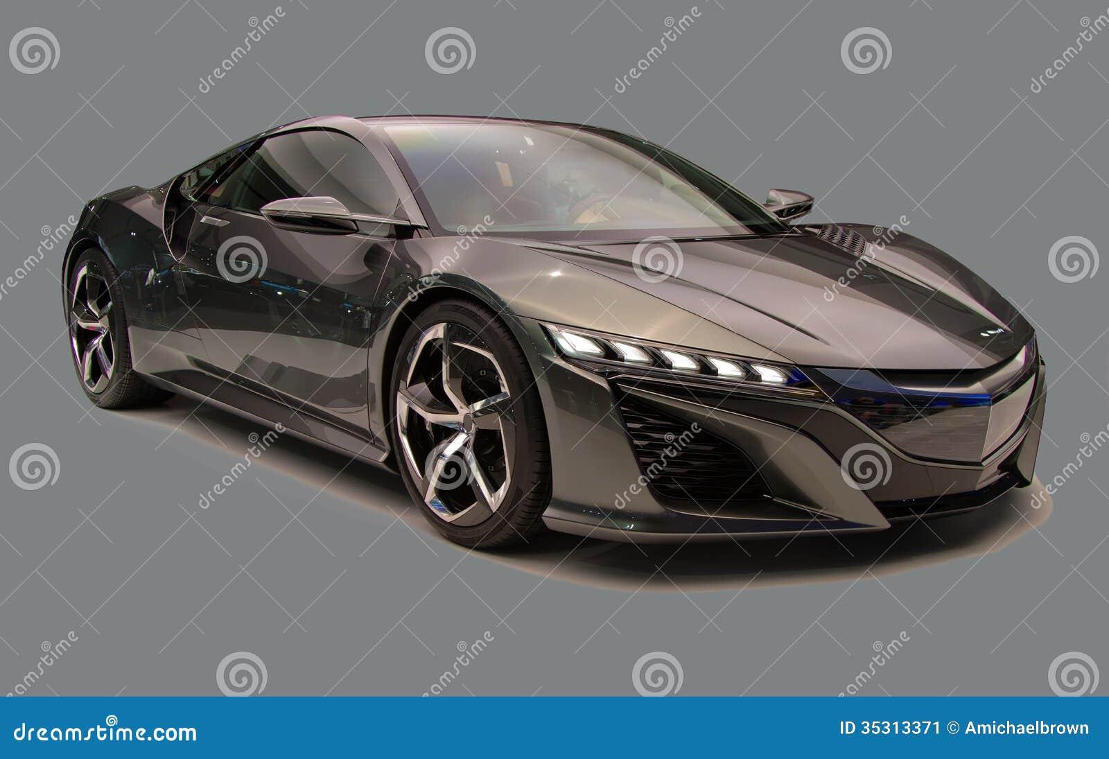sport auto lokalisiert stockbild bild von braun automobil 35313371. Black Bedroom Furniture Sets. Home Design Ideas