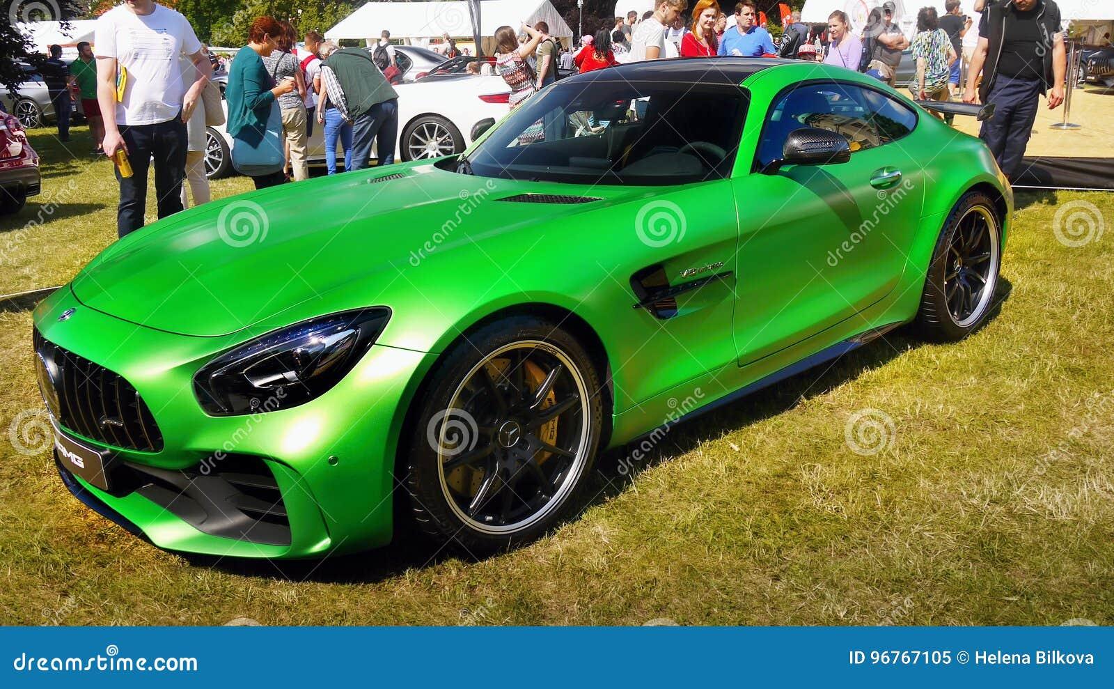 Sport Autos Mercedes Amg Gt R Redaktionelles Bild Bild Von Super