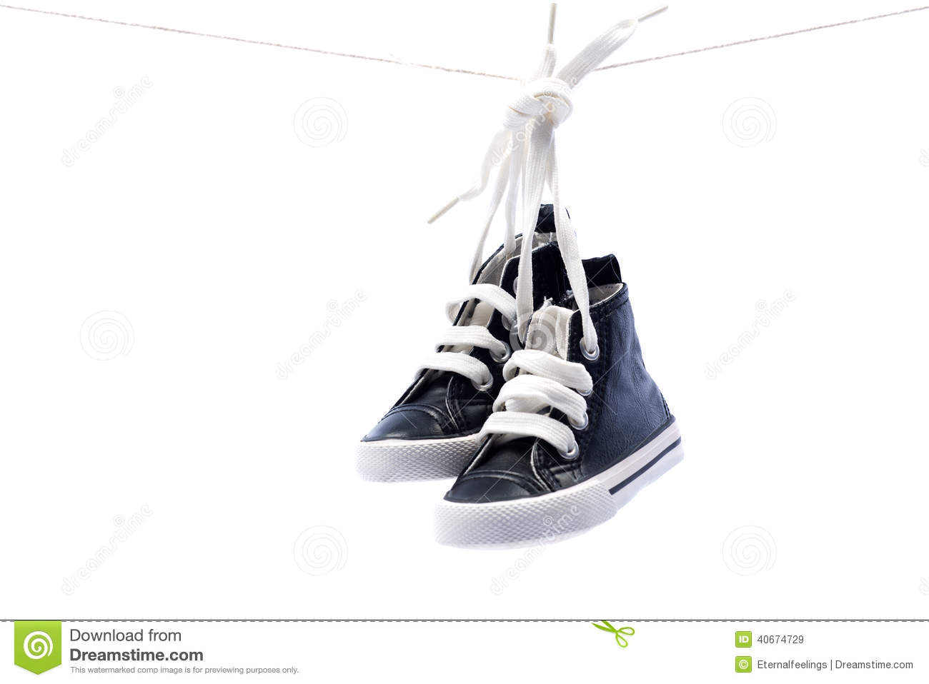 Sport Baby Shoes Hanging