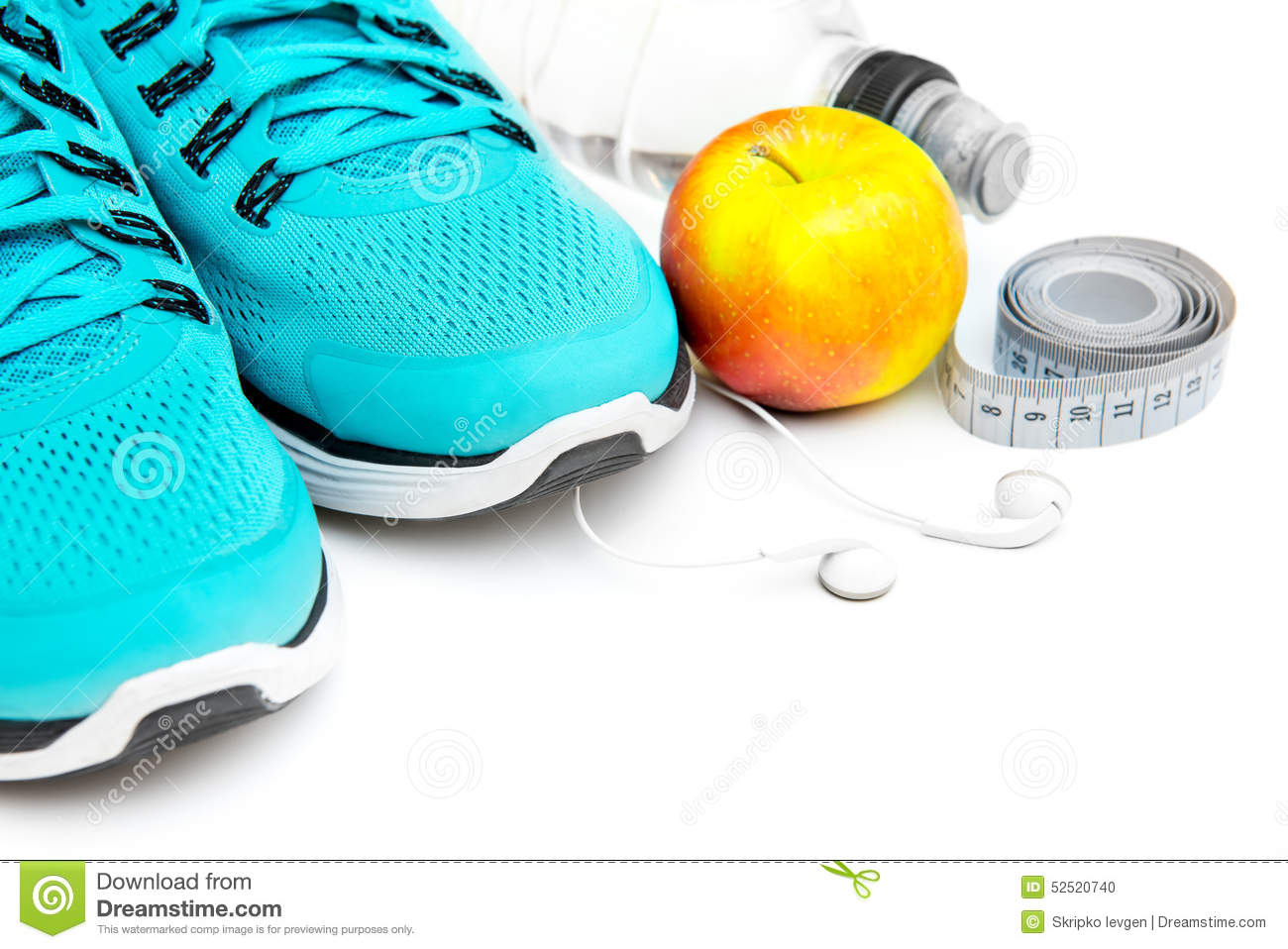 Running Shoes Background