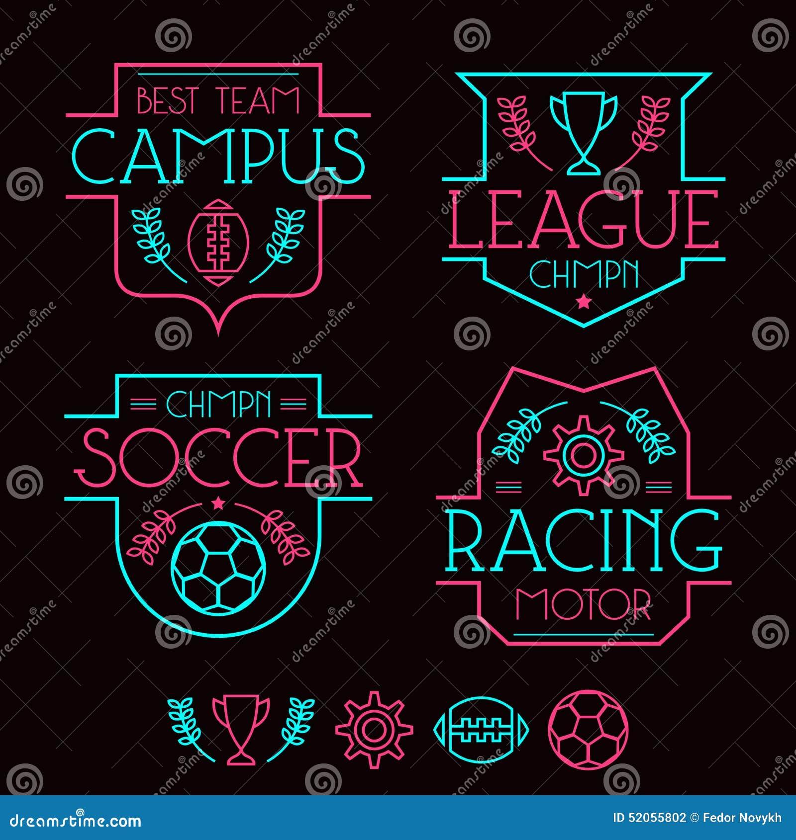 Design t shirt neon colors - Design T Shirt Neon Colors Badges Design Graphic Line Neon Print Shirt