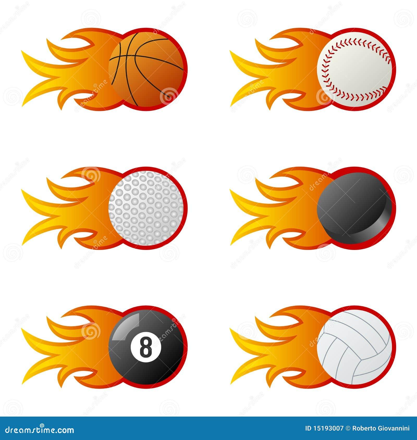 sport balls in flames  1  stock vector image of billiard clip art free billiard clipart 9 ball