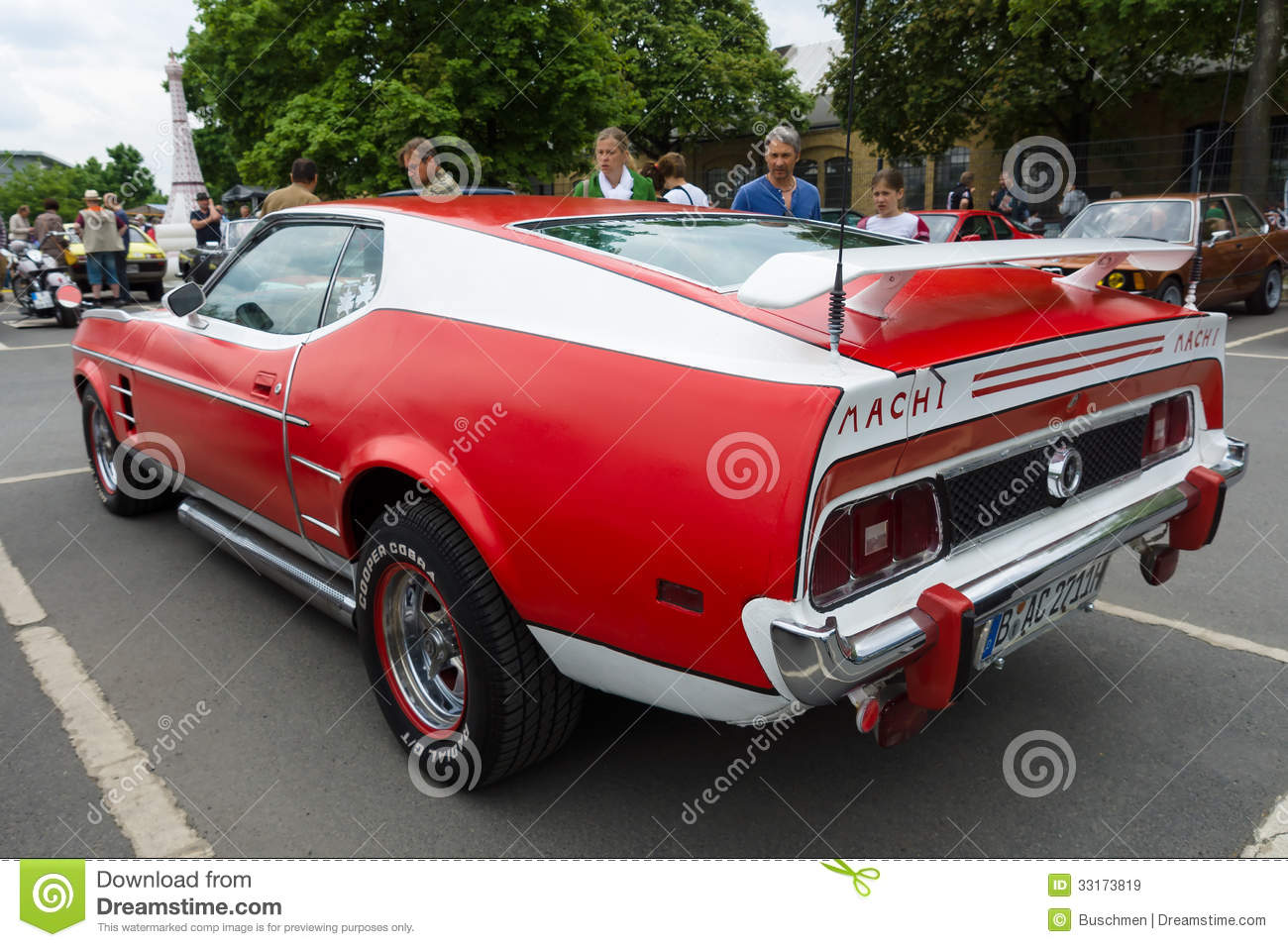 sport car ford mustang mach i editorial stock image. Black Bedroom Furniture Sets. Home Design Ideas