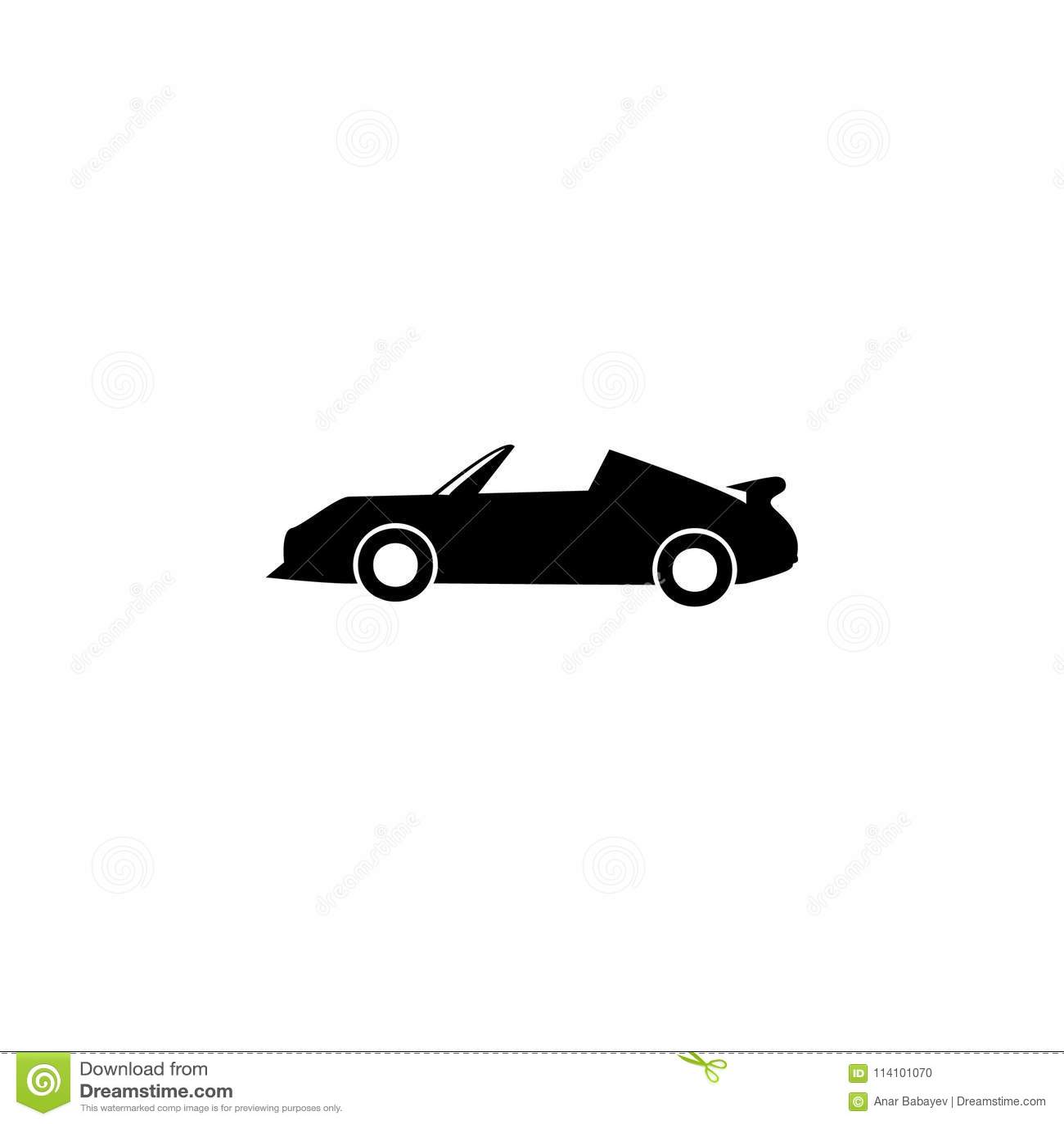 Sport Car Icon Element Of Car Type Icon Premium Quality Graphic