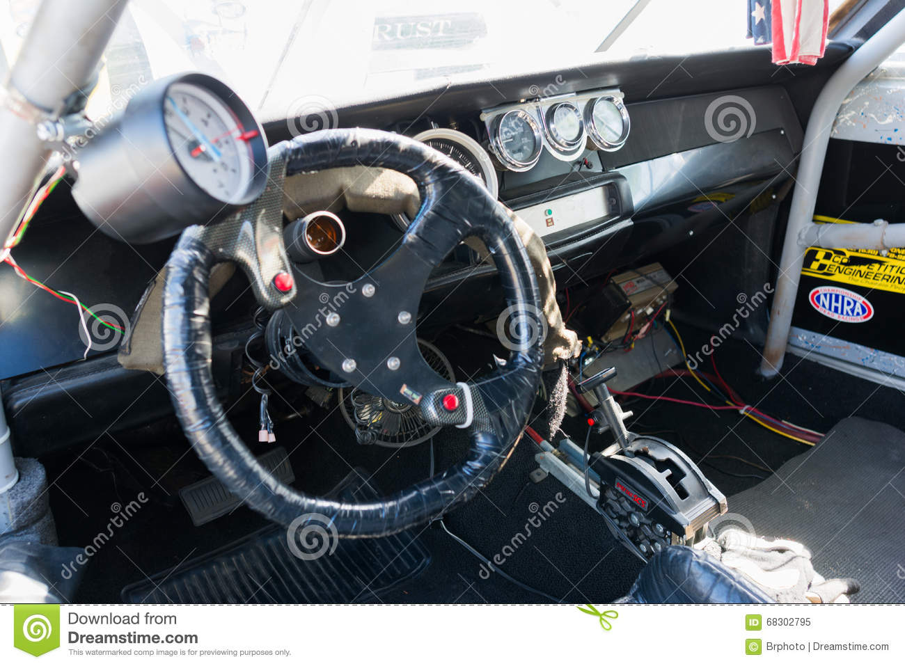 Sport Car Interior Editorial Image Image Of Antique 68302795