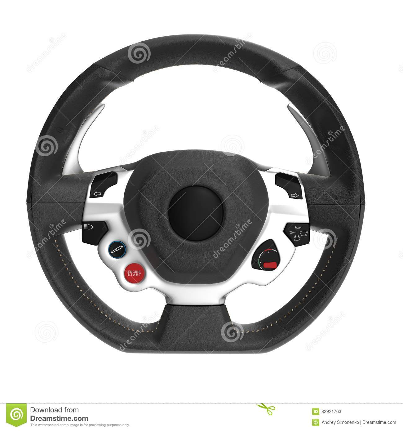 Sport Steering Wheel Stock Image | CartoonDealer.com #31120783