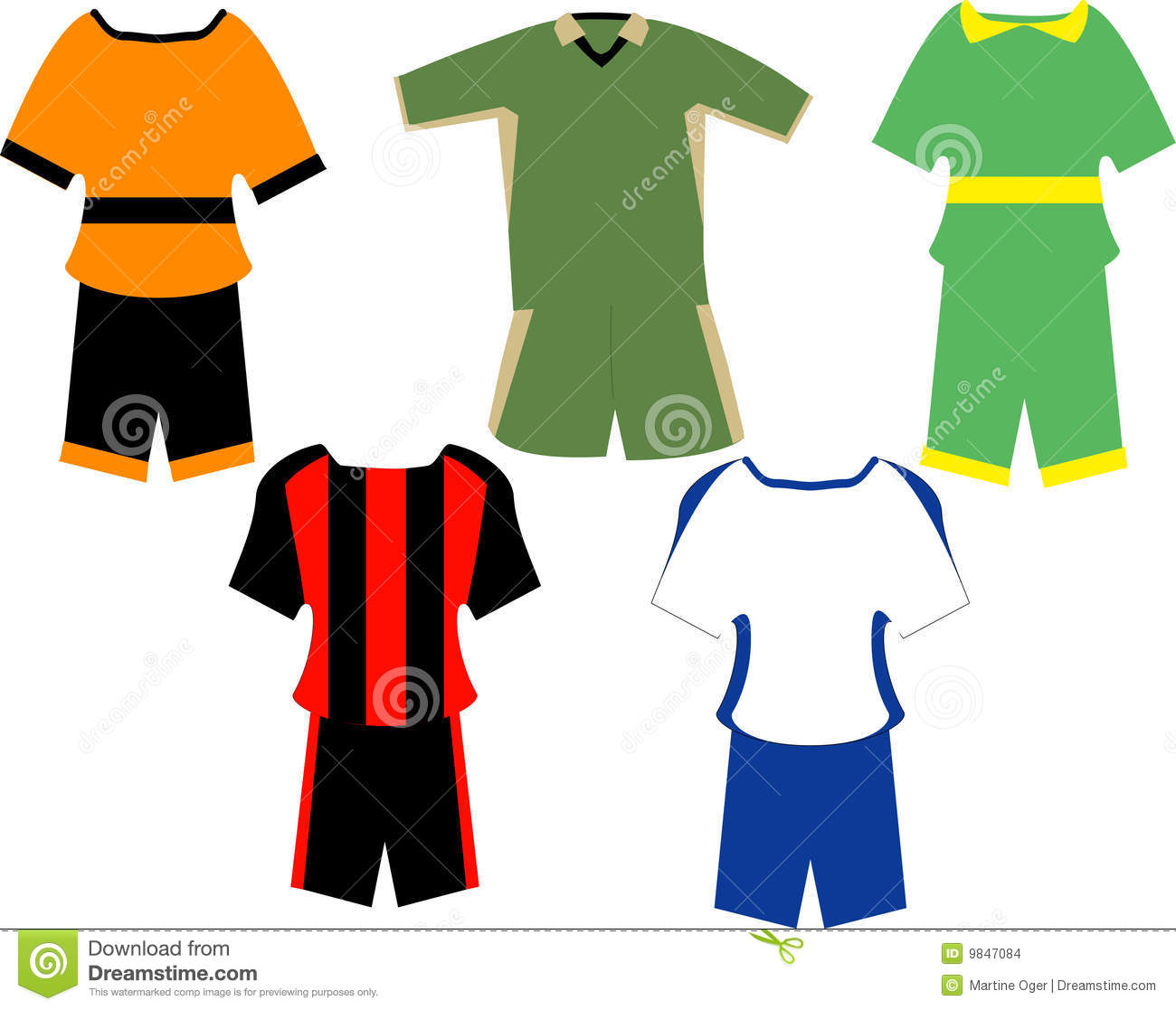 Sport Clothes. Stock Images - Image: 9847084