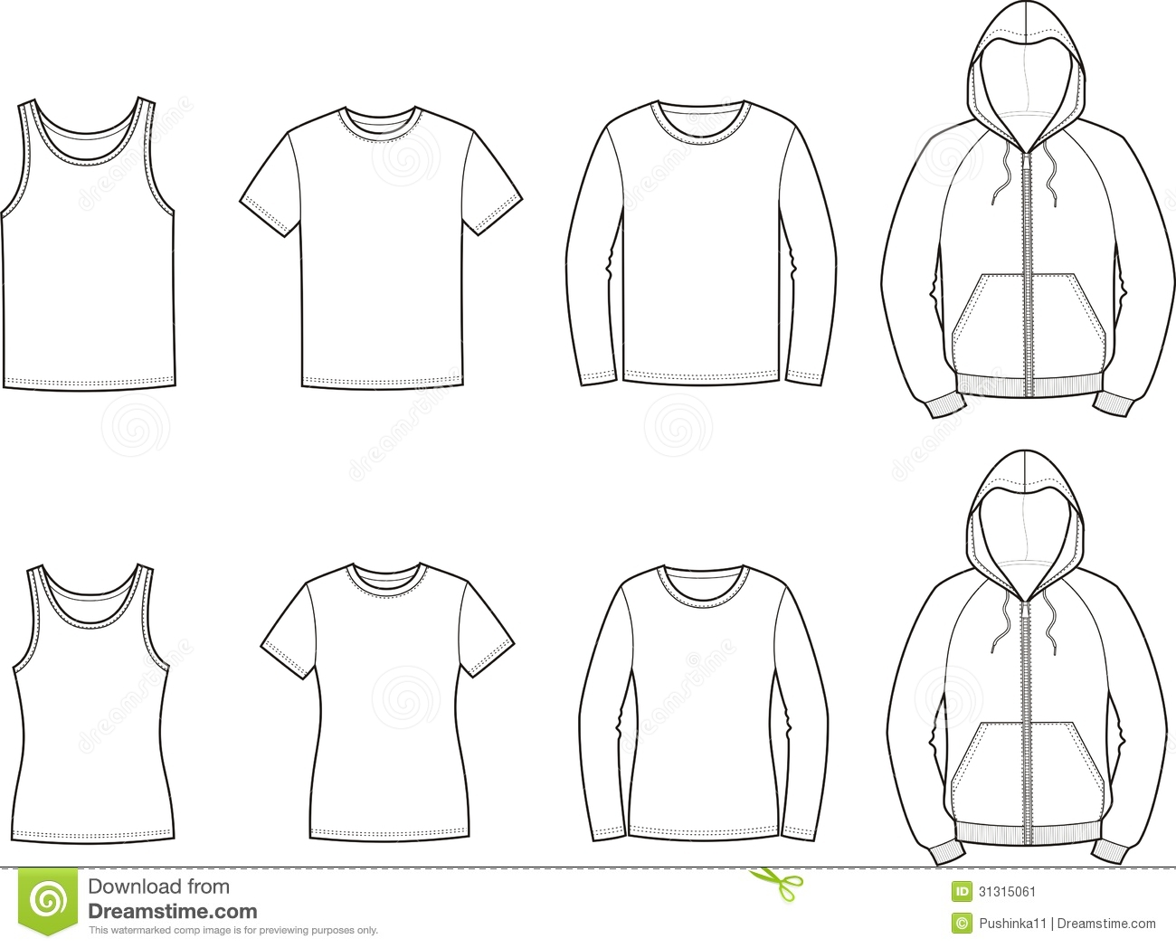 Womens Clothes Clipart And womens sport clothes