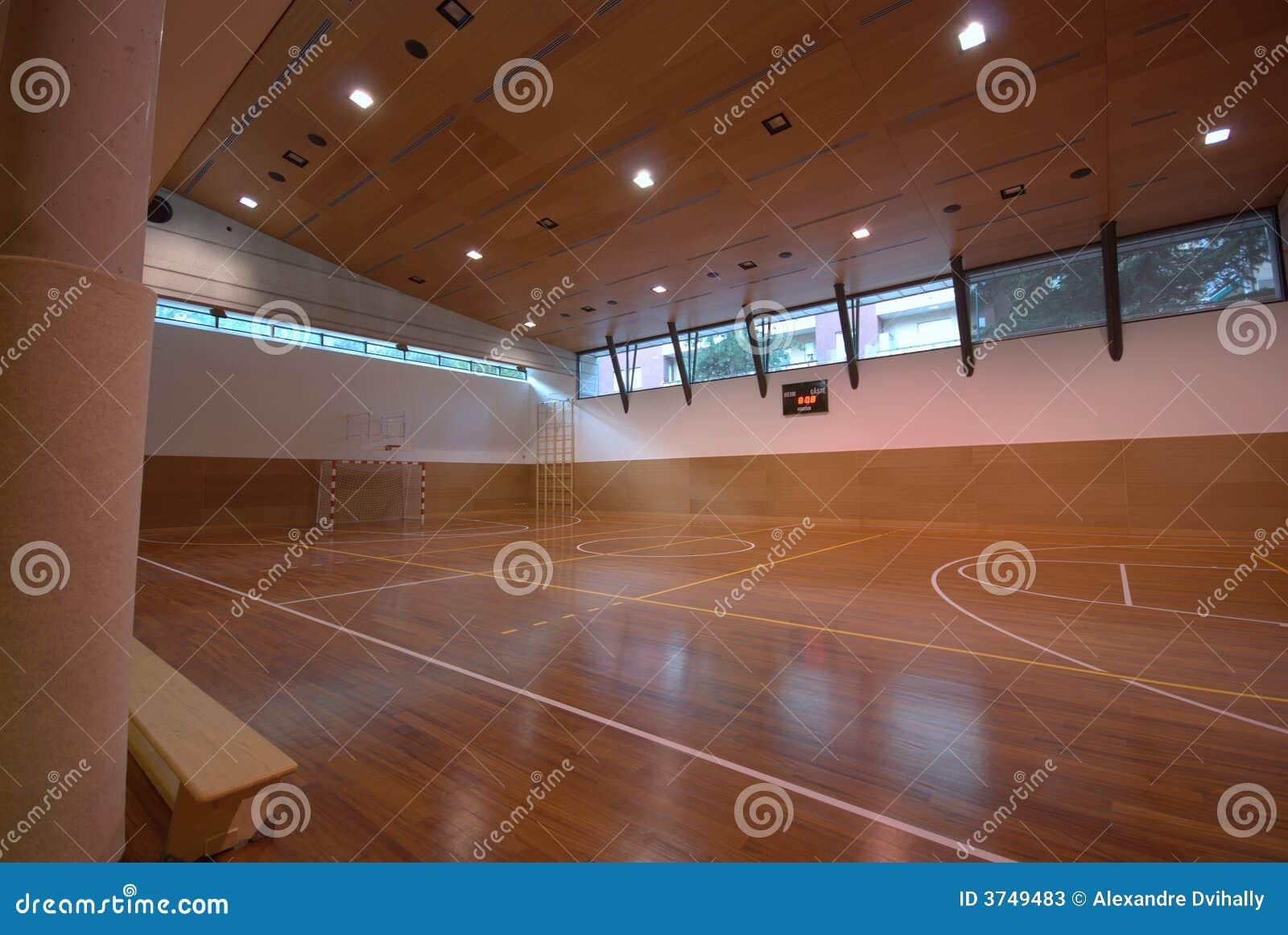 Sport Court Indoor Stock Photos Image 3749483