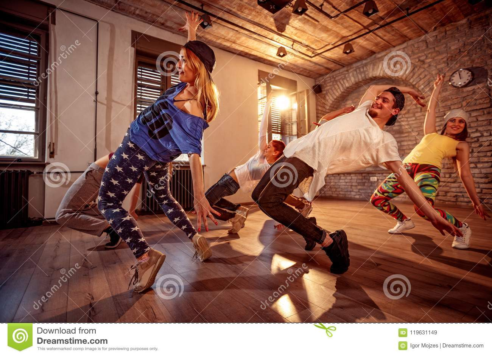 Sport, danse et concept urbain