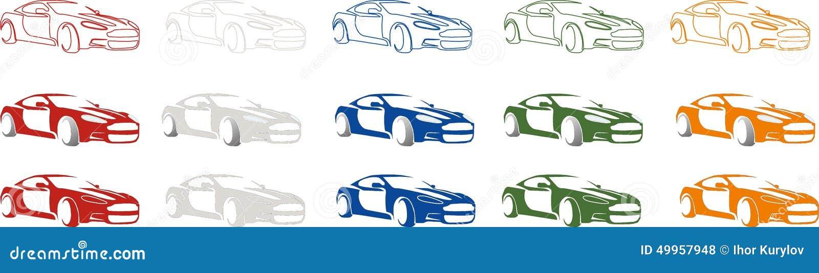 sport de luxe logo rapide de voiture de ville illustration de vecteur illustration du bleu. Black Bedroom Furniture Sets. Home Design Ideas