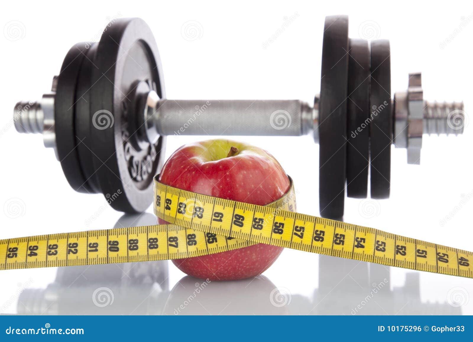 Diät und Sportplan