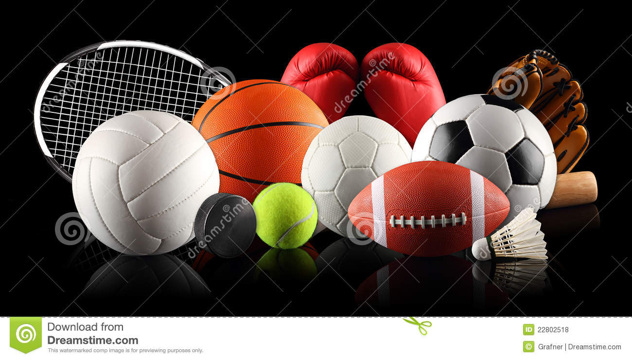 Sport Equipment 2 Royalty Free Stock Photos - Image: 22802518