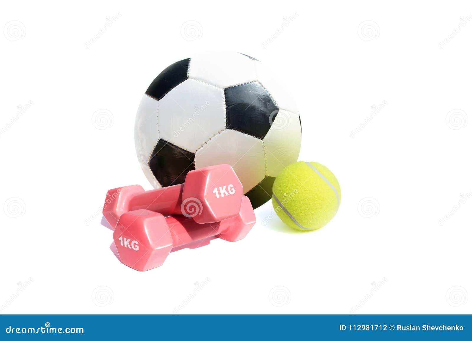 Sport equipment isolate on white background