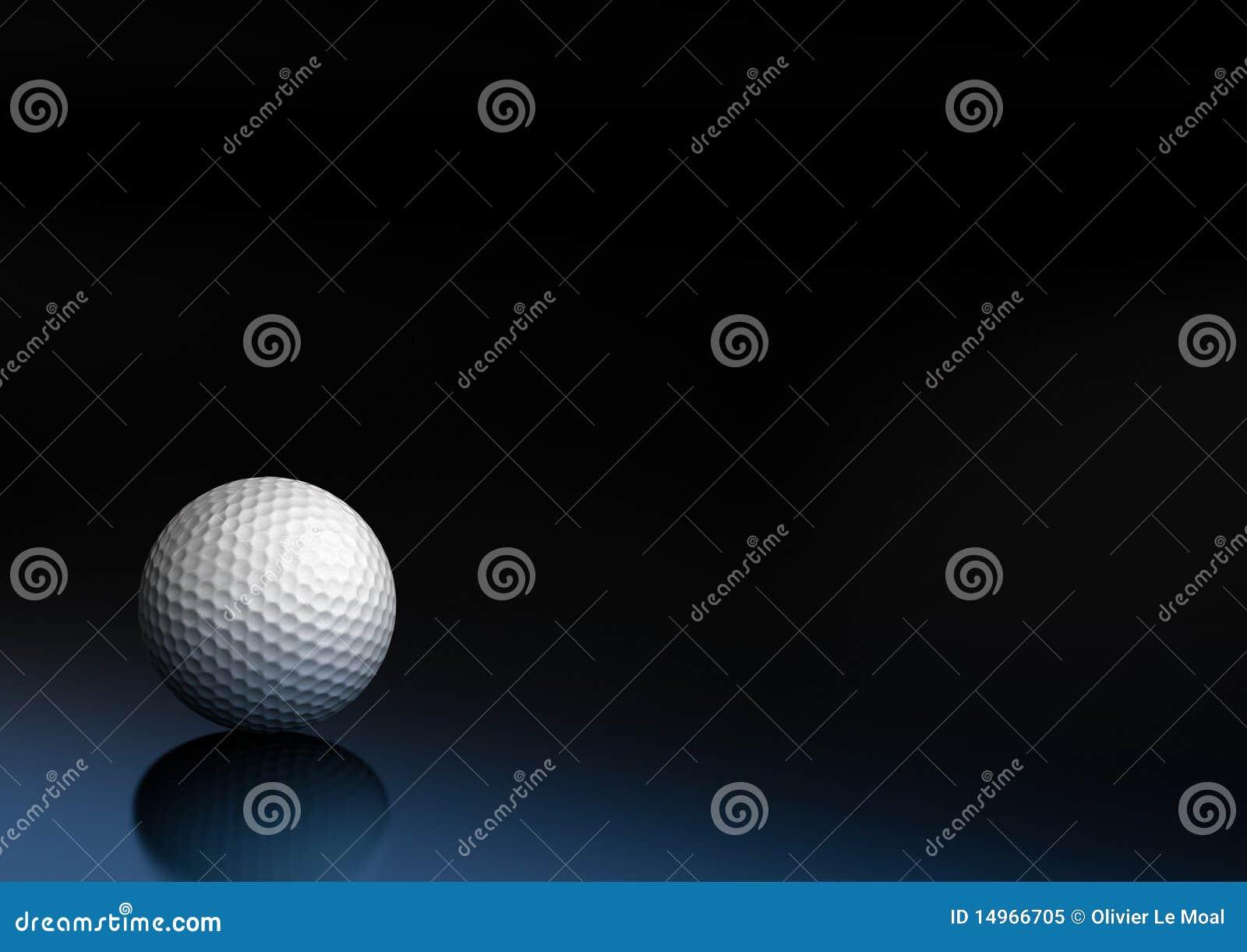 Sport för golf för bakgrundsbollutrustning